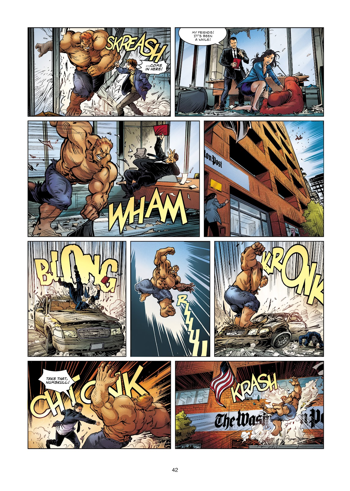 Read online Vigilantes comic -  Issue #4 - 42