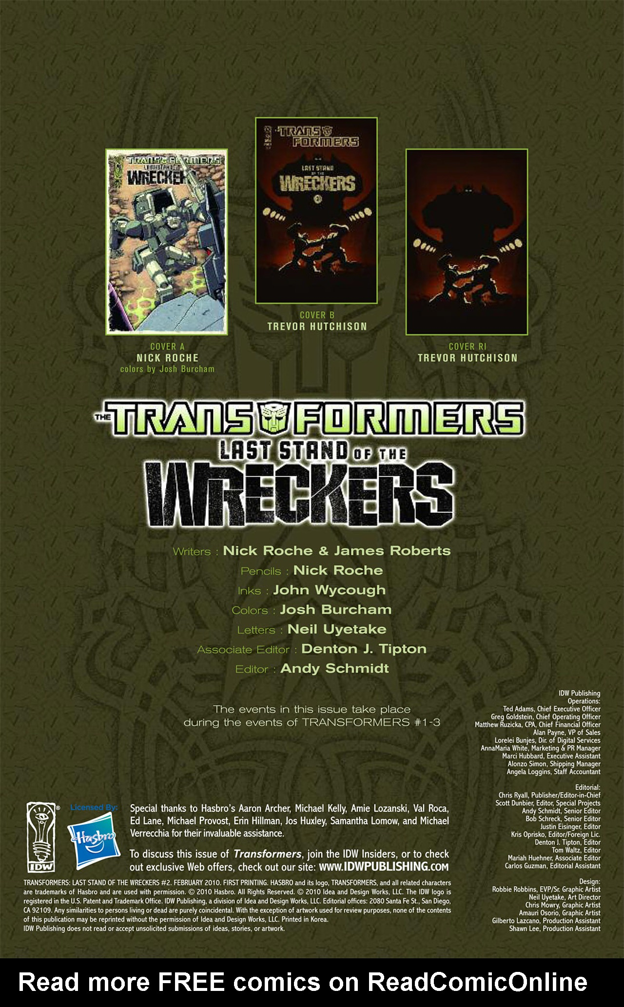 Read online Transformers: Last Stand of The Wreckers comic -  Issue #2 - 3
