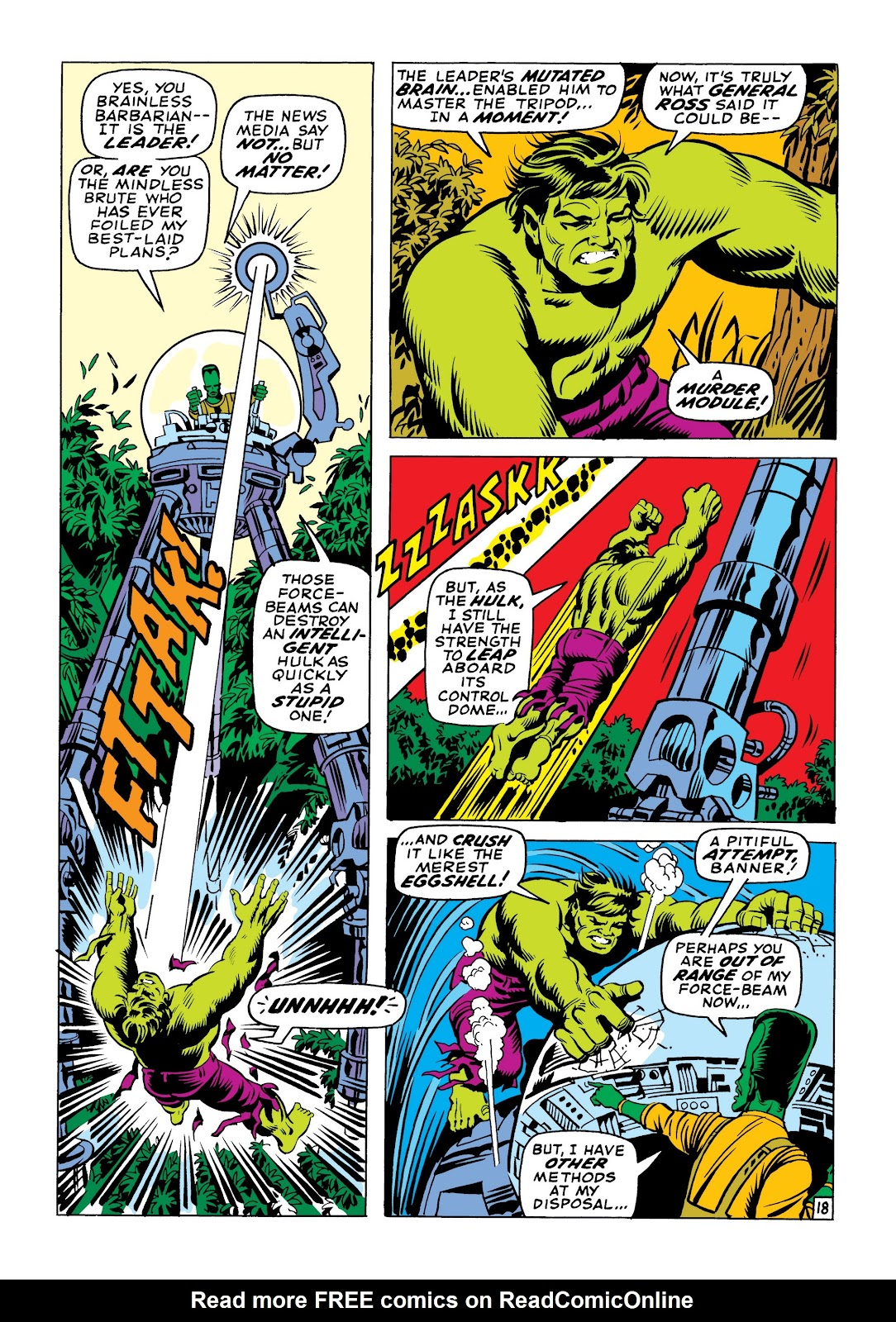 Read online Marvel Masterworks: The Incredible Hulk comic -  Issue # TPB 6 (Part 1) - 48