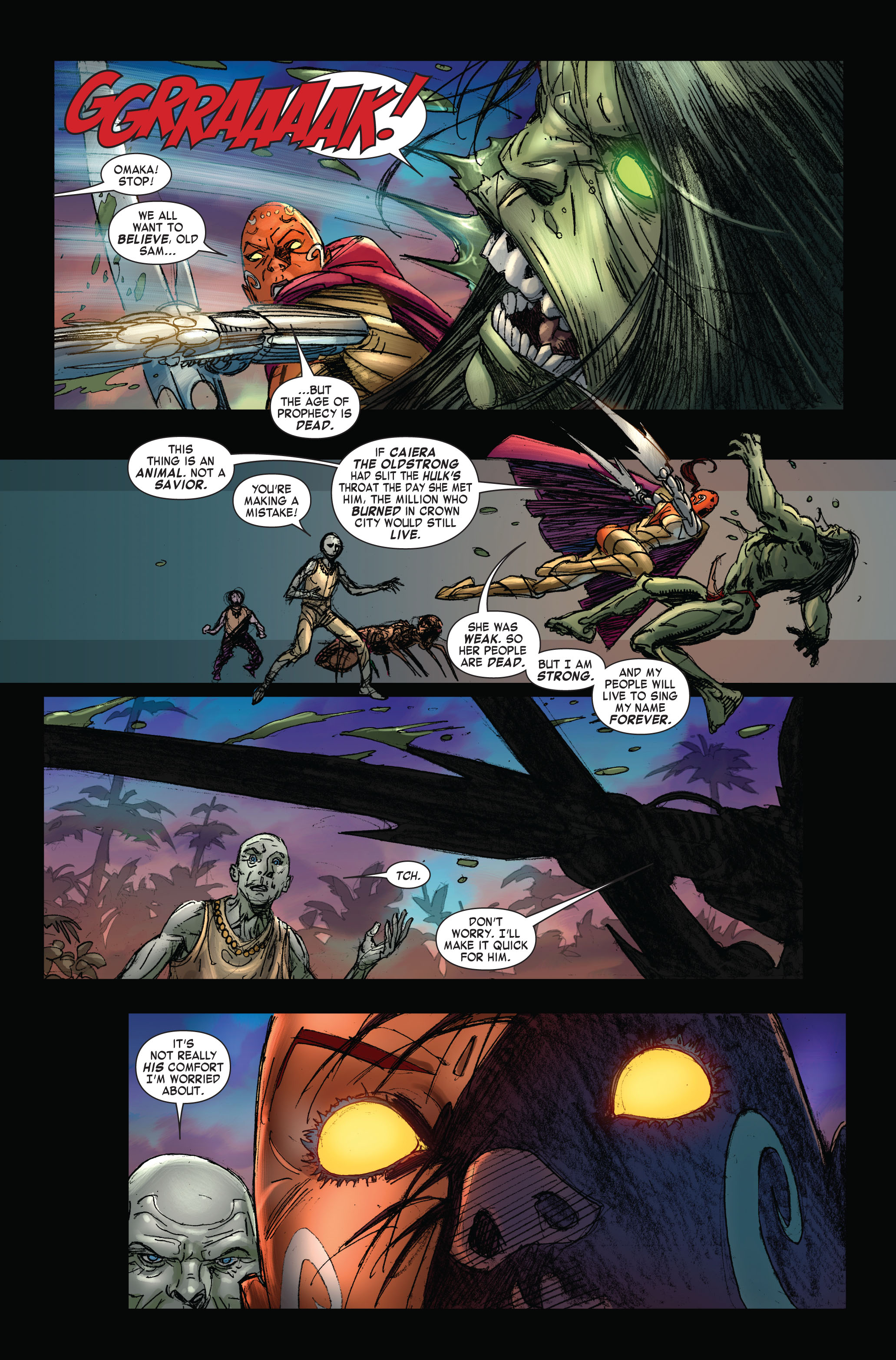 Read online Skaar: Son of Hulk comic -  Issue #3 - 8