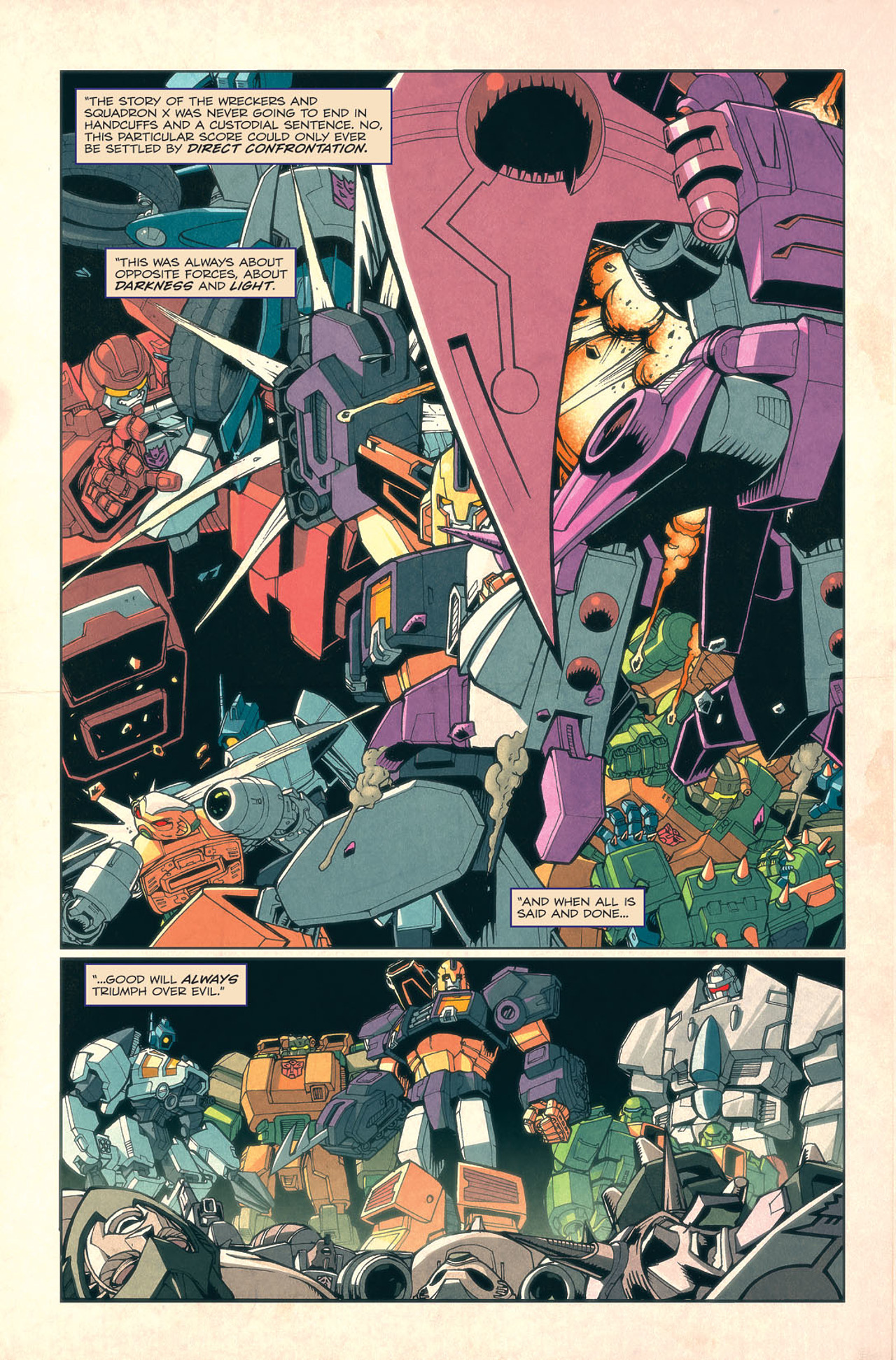 Read online Transformers: Last Stand of The Wreckers comic -  Issue #4 - 15