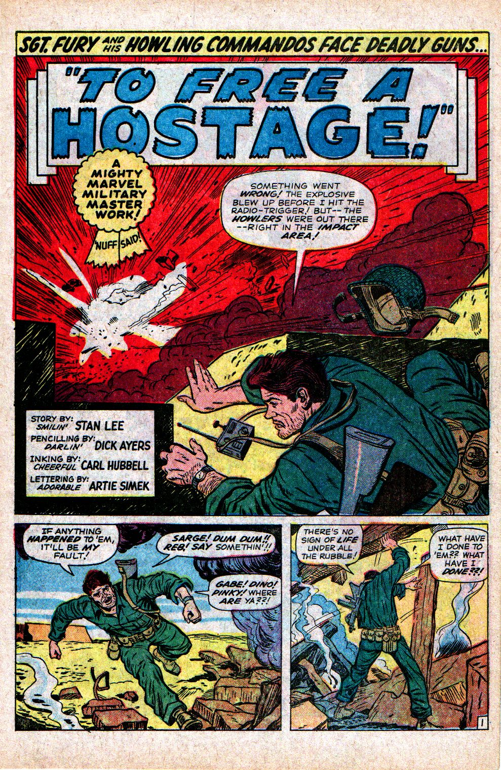 Read online Sgt. Fury comic -  Issue #21 - 3