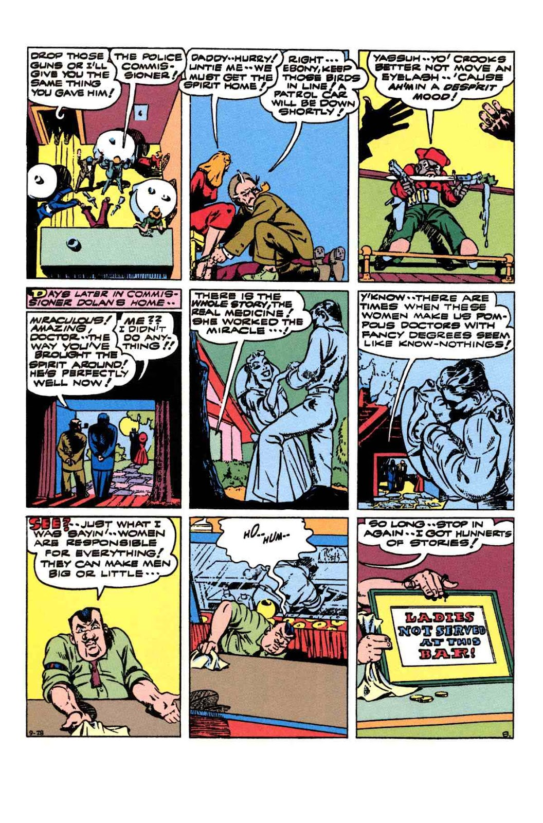 Read online Will Eisner's The Spirit Archives comic -  Issue # TPB 3 (Part 2) - 5