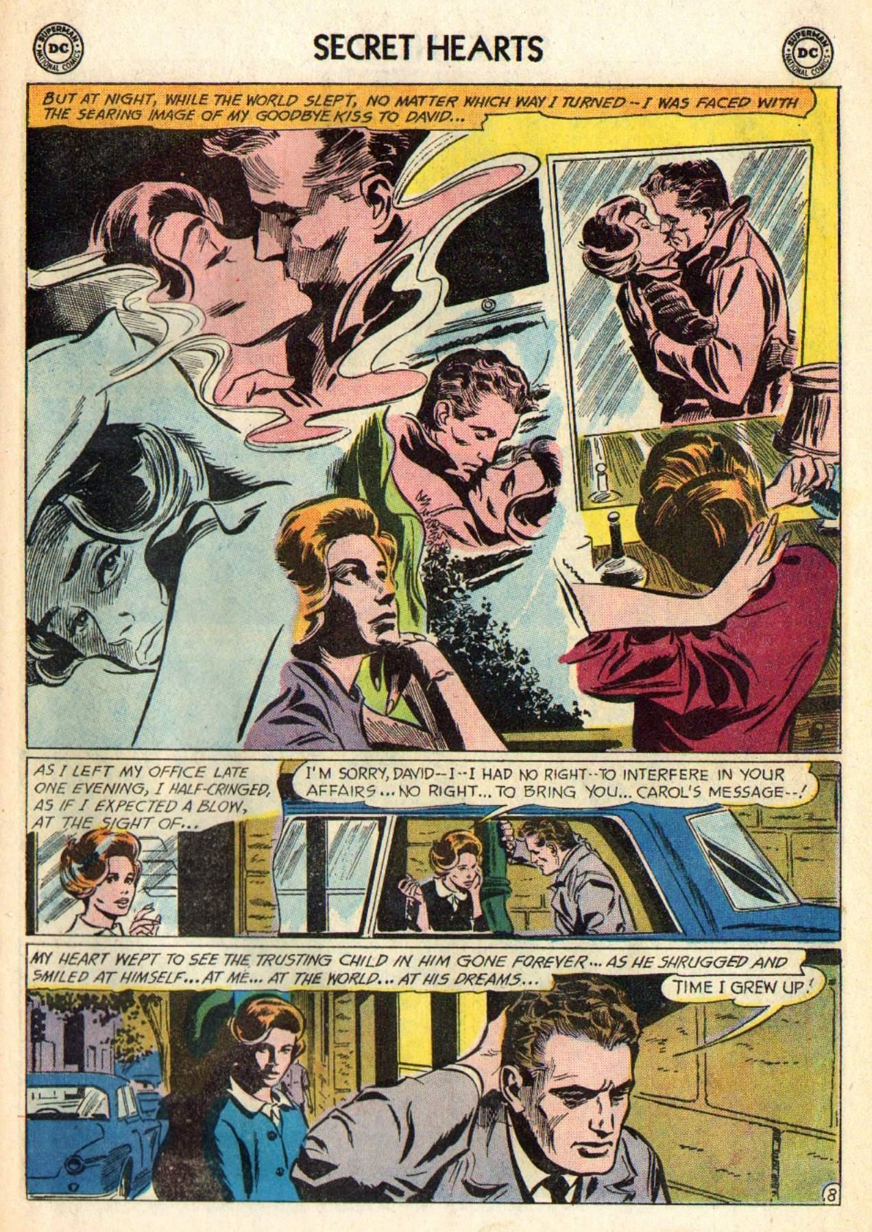 Read online Secret Hearts comic -  Issue #98 - 27