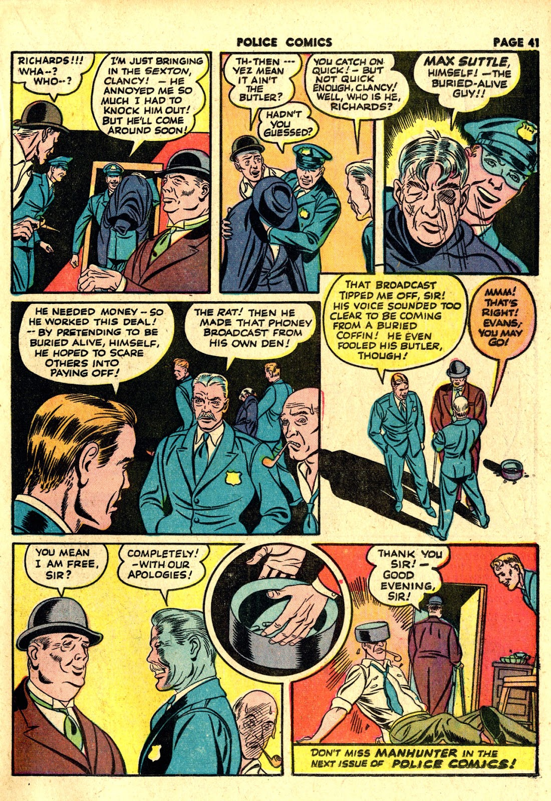 Police Comics issue 19 - Page 43