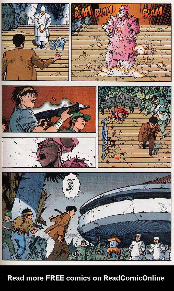 Read online Akira comic -  Issue #21 - 52
