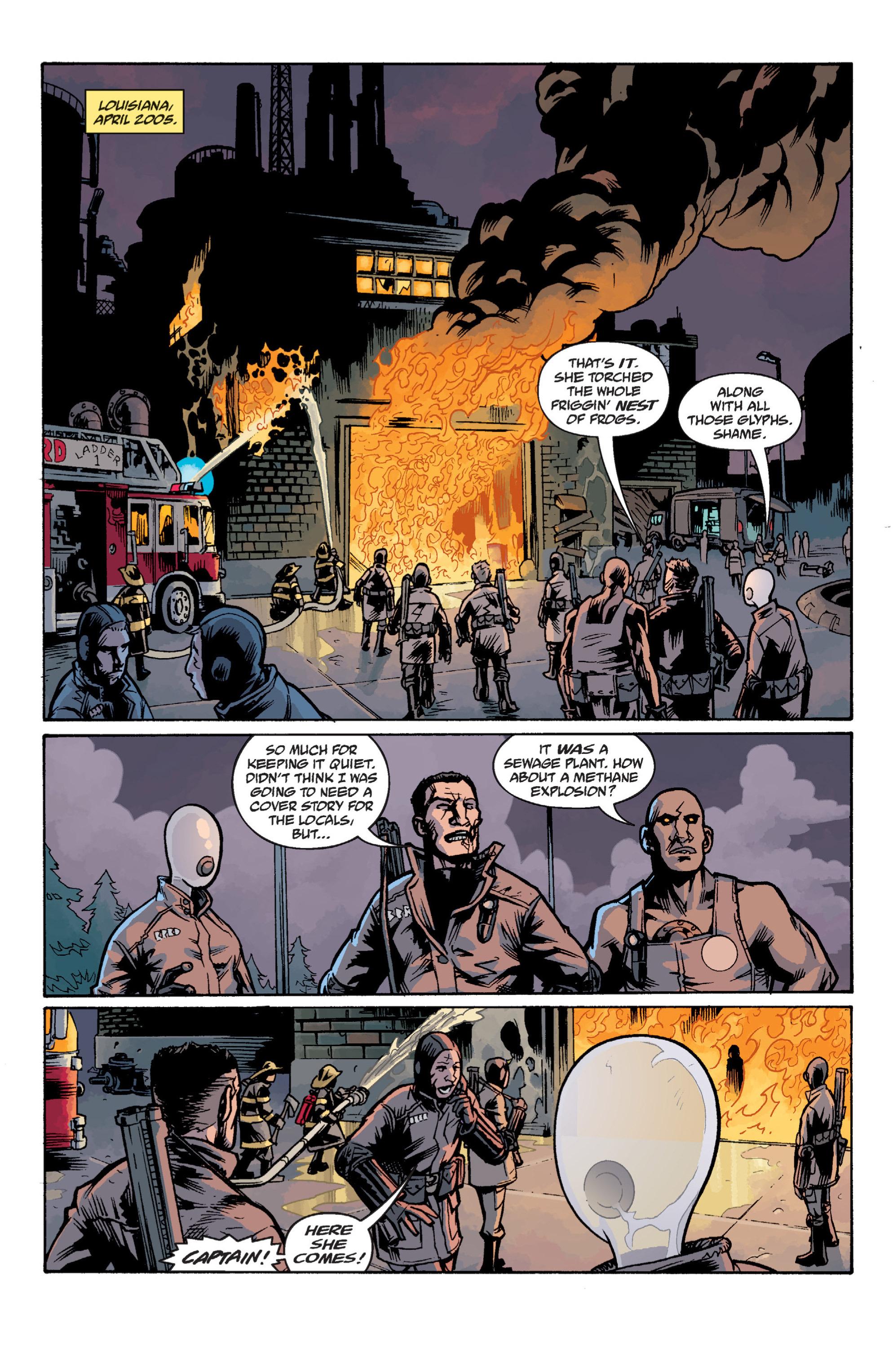 Read online B.P.R.D. (2003) comic -  Issue # TPB 12 - 109