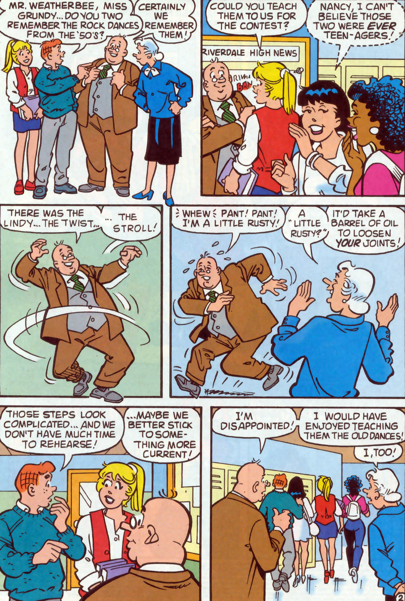 Read online Archie (1960) comic -  Issue #478 - 3