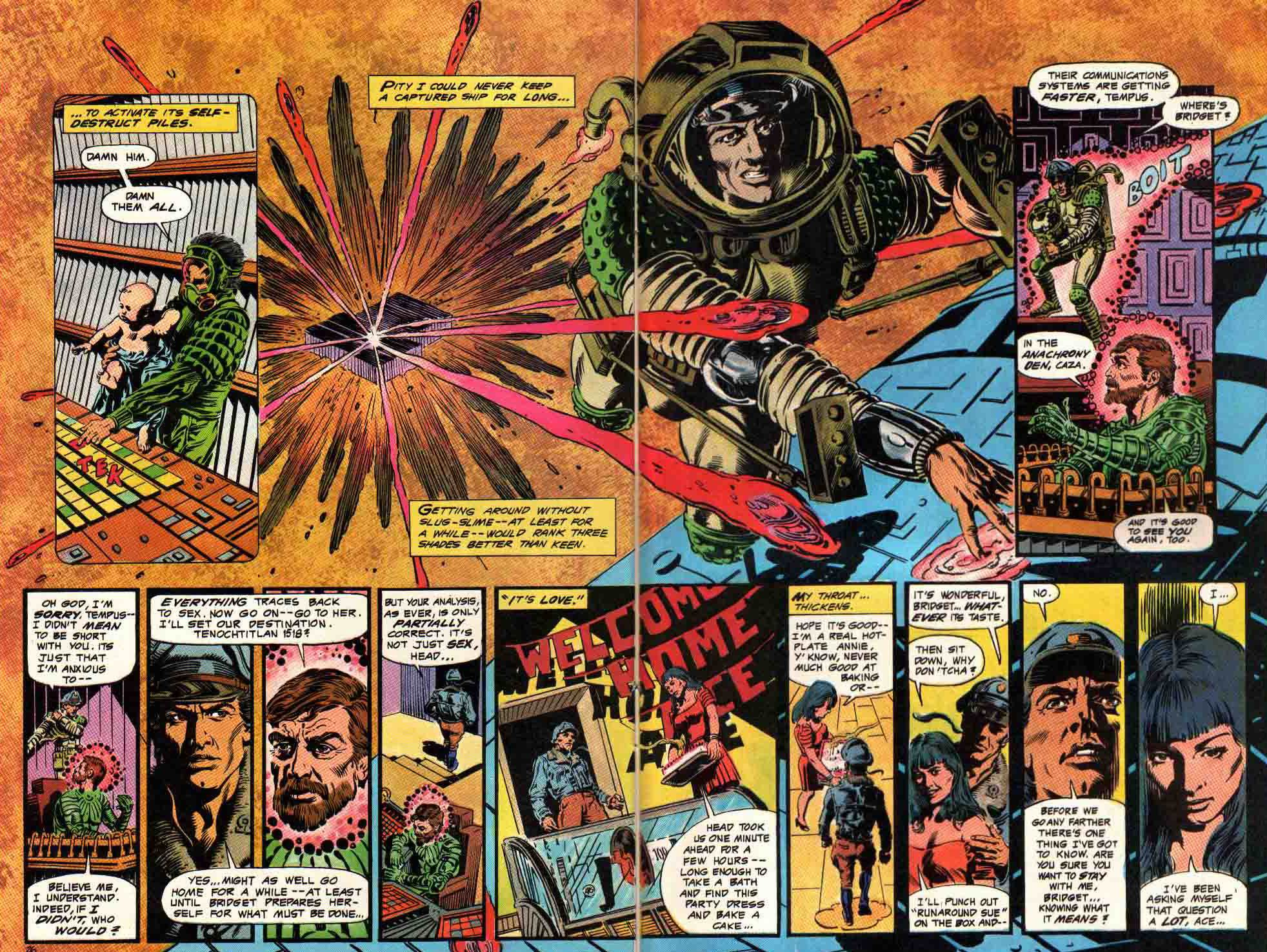 Read online Aztec Ace comic -  Issue #6 - 24