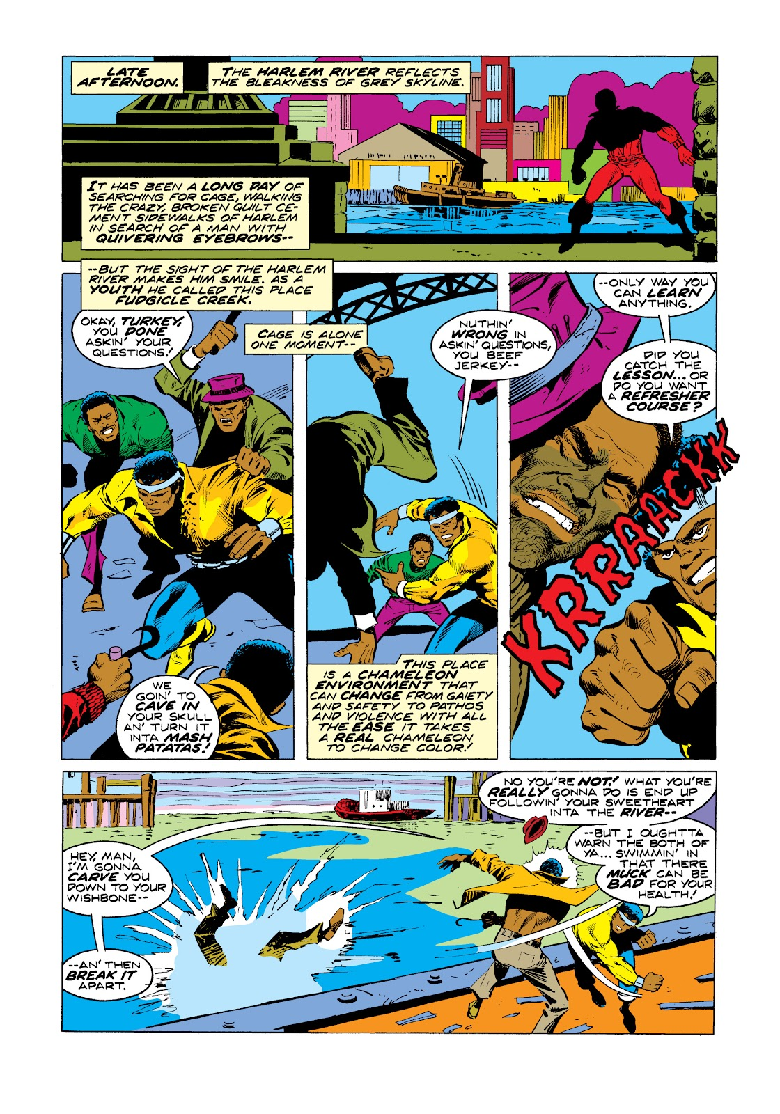 Read online Marvel Masterworks: Luke Cage, Power Man comic -  Issue # TPB 2 (Part 3) - 36