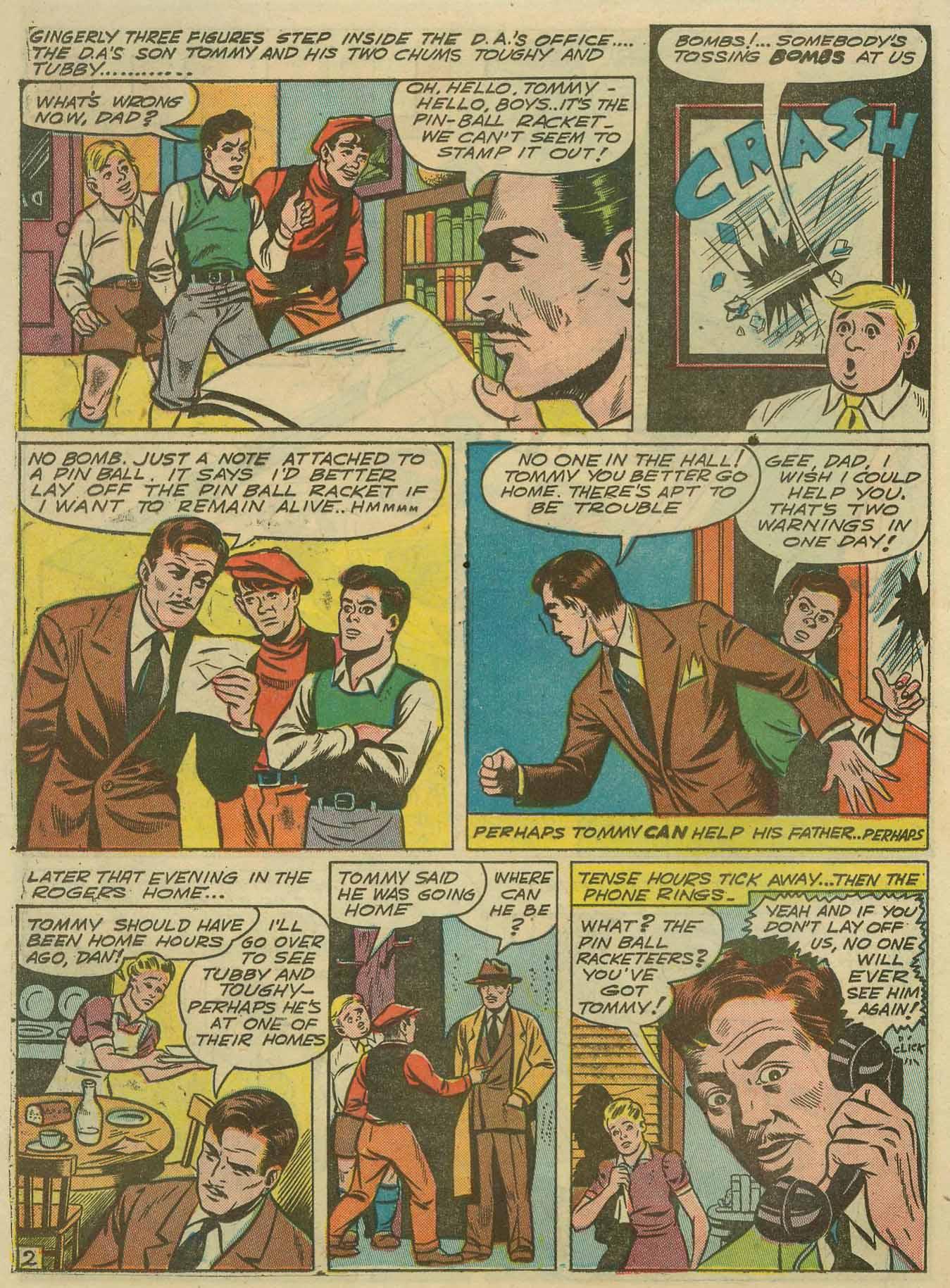 Read online Sensation (Mystery) Comics comic -  Issue #14 - 50