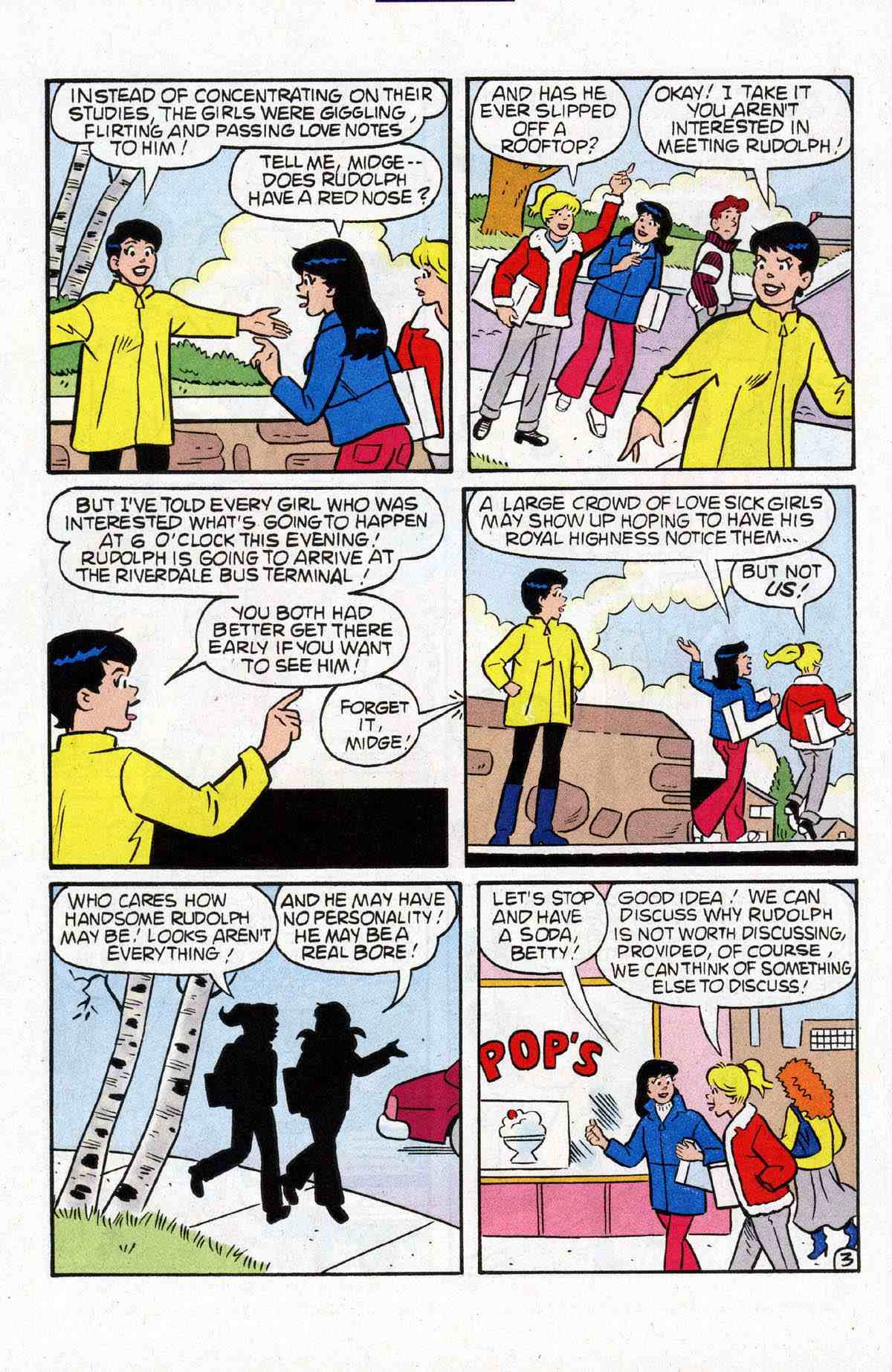 Read online Archie's Girls Betty and Veronica comic -  Issue #184 - 12