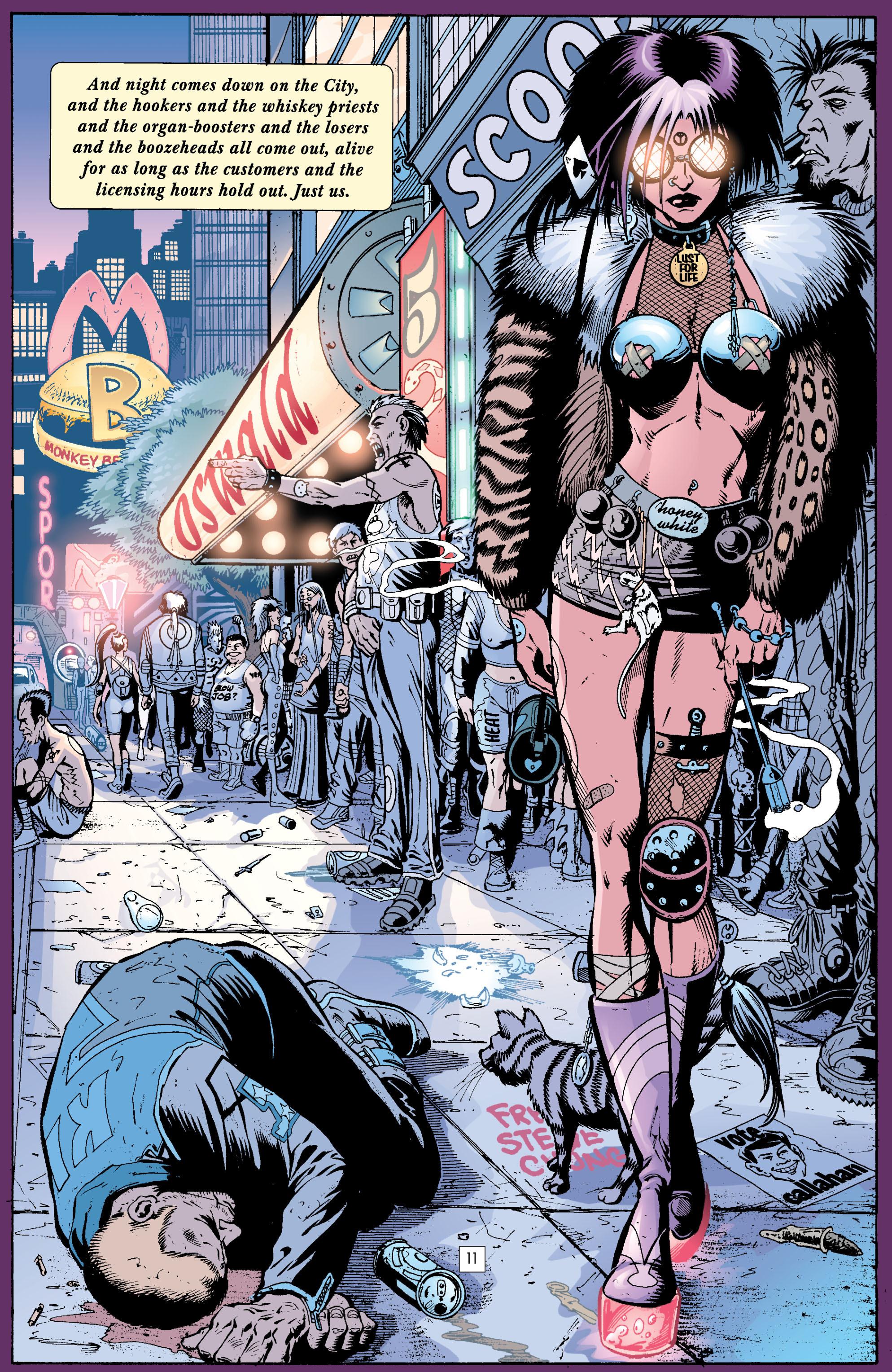 Read online Transmetropolitan comic -  Issue #23 - 12
