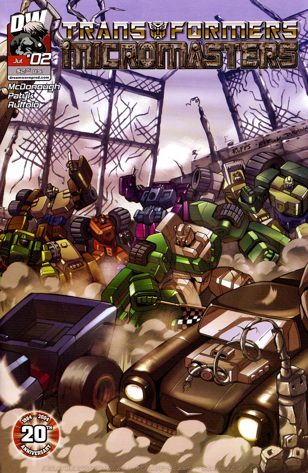 Read online Transformers: Micromasters comic -  Issue #2 - 1