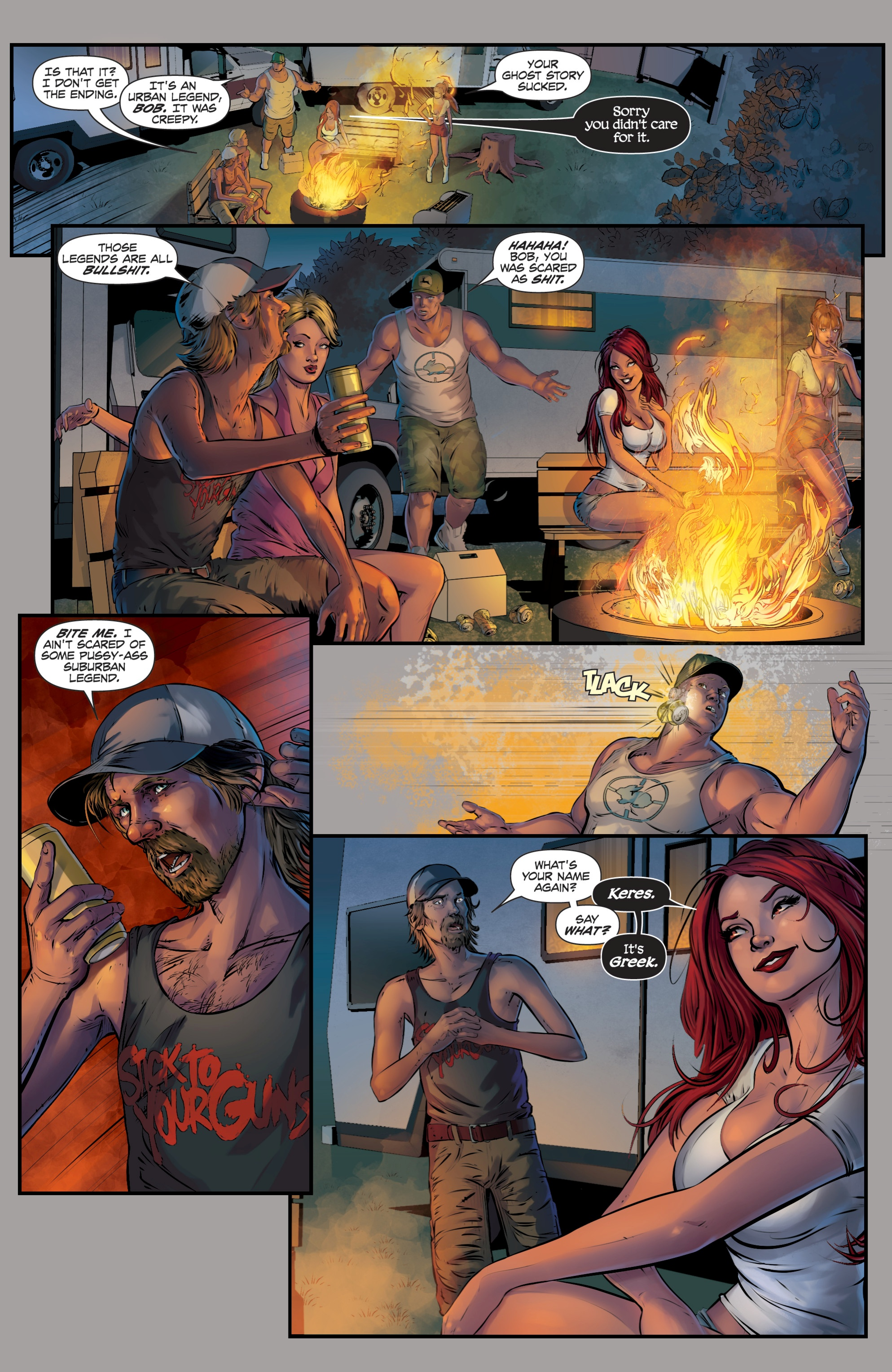 Read online Grimm Fairy Tales presents Death comic -  Issue # Full - 3