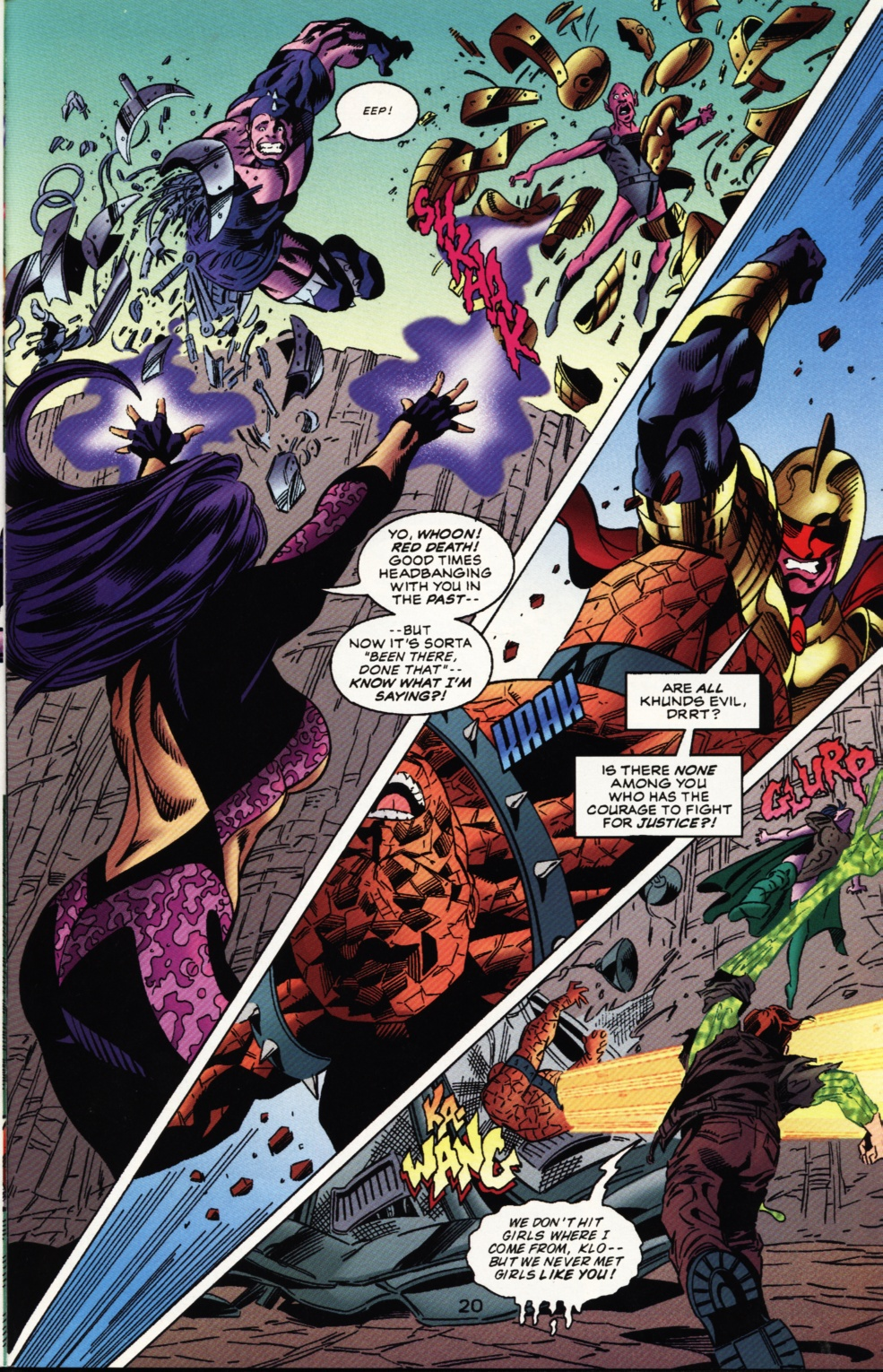 Read online Superboy & The Ravers comic -  Issue #12 - 21