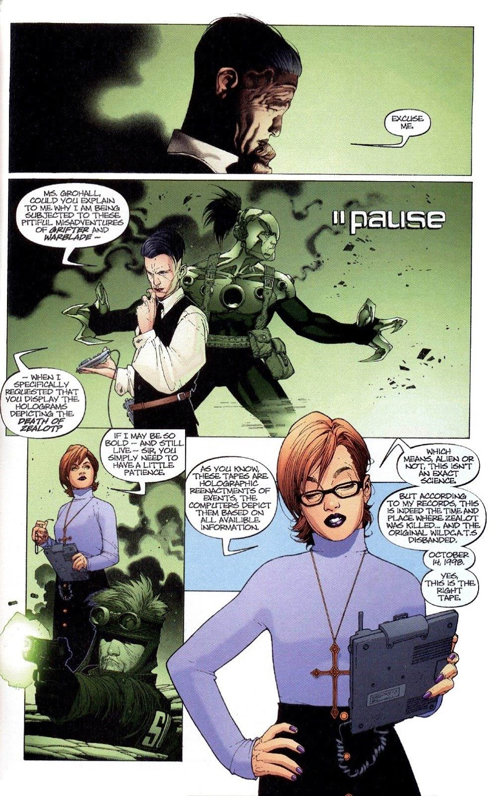 Wildcats (1999) Issue #4 #5 - English 9