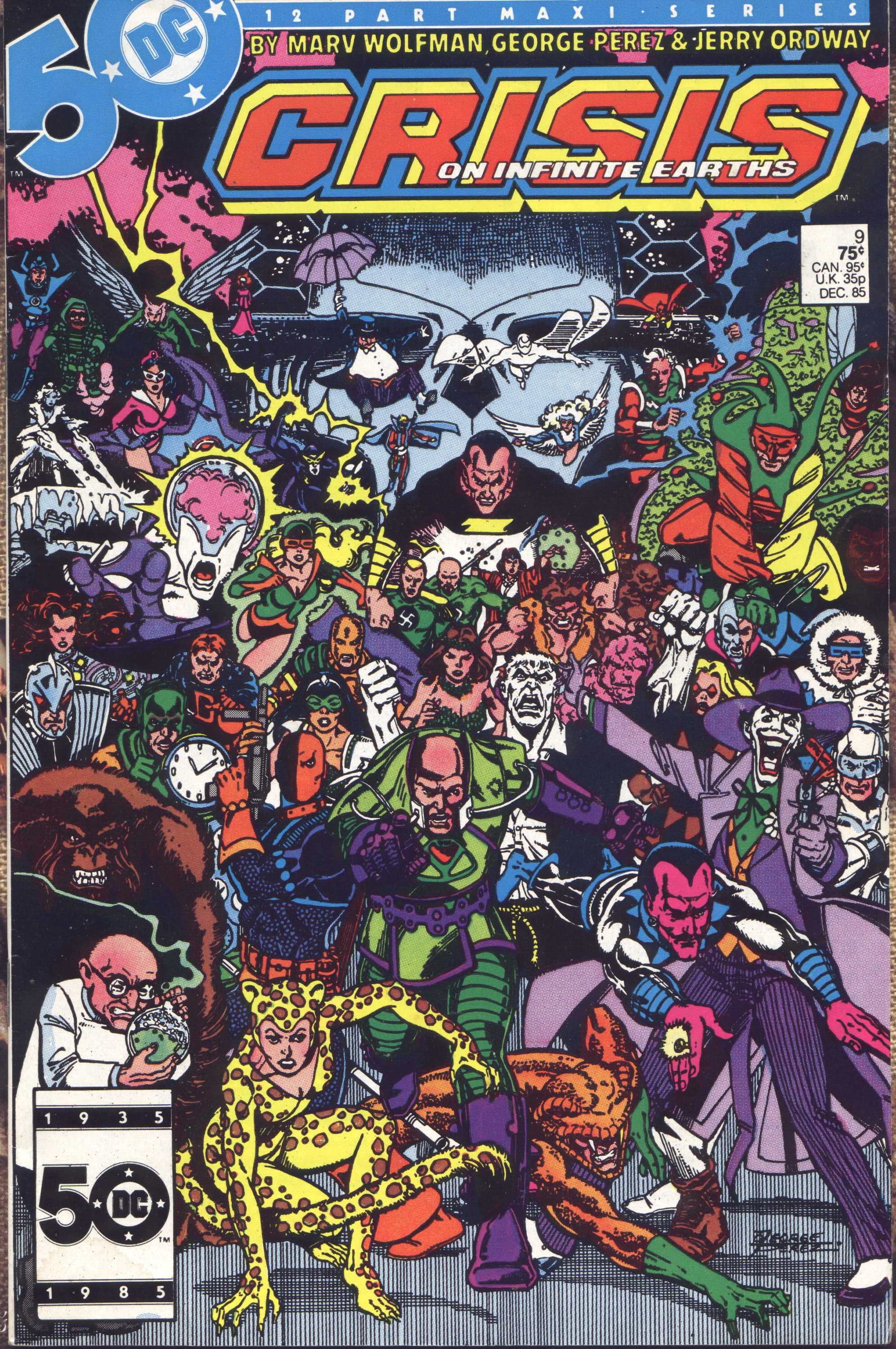 Crisis on Infinite Earths (1985) 9 Page 1