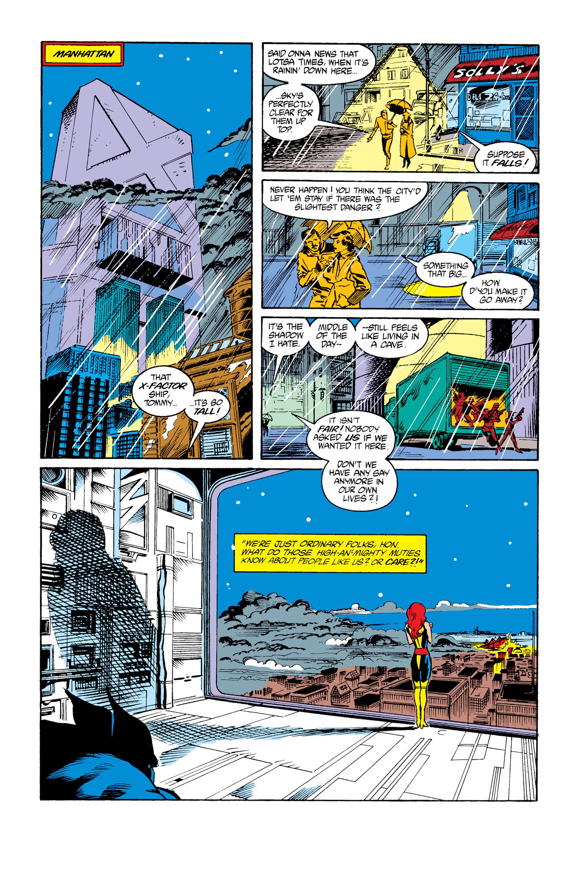 Read online Uncanny X-Men (1963) comic -  Issue #264 - 11