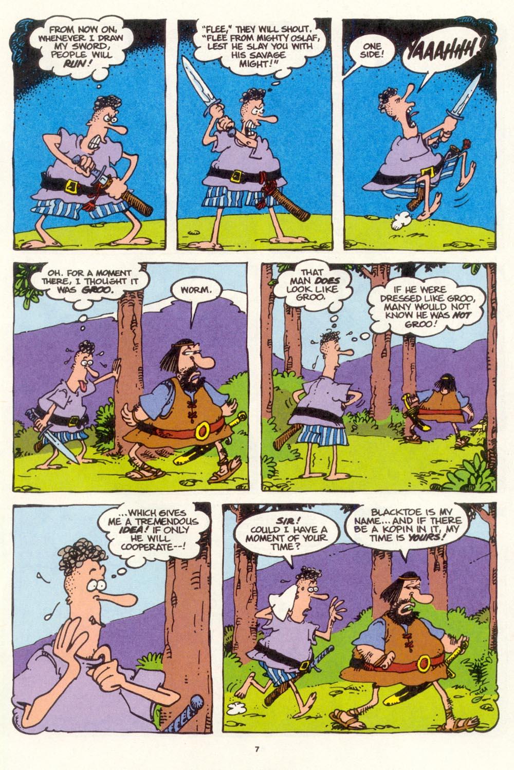 Read online Sergio Aragonés Groo the Wanderer comic -  Issue #111 - 9