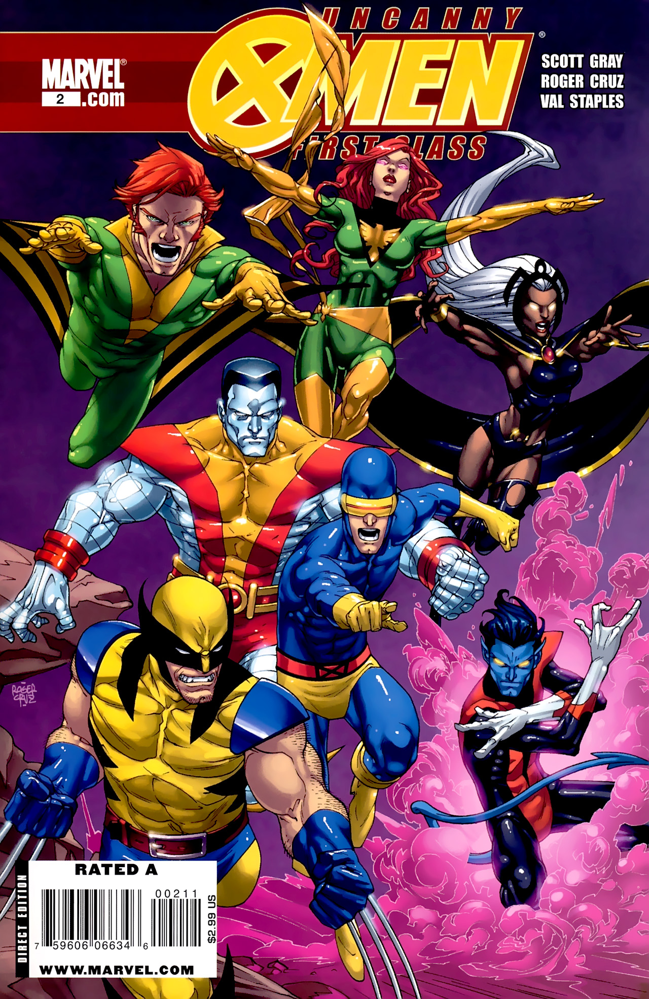 Read online Uncanny X-Men: First Class comic -  Issue #2 - 1