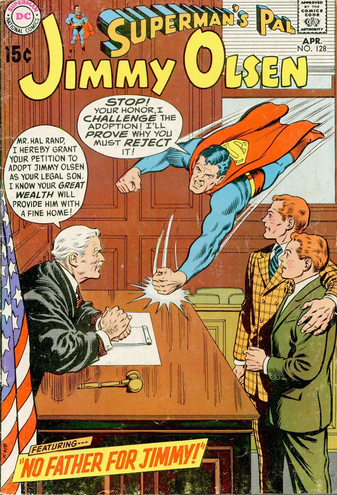 Supermans Pal Jimmy Olsen (1954) 128 Page 1