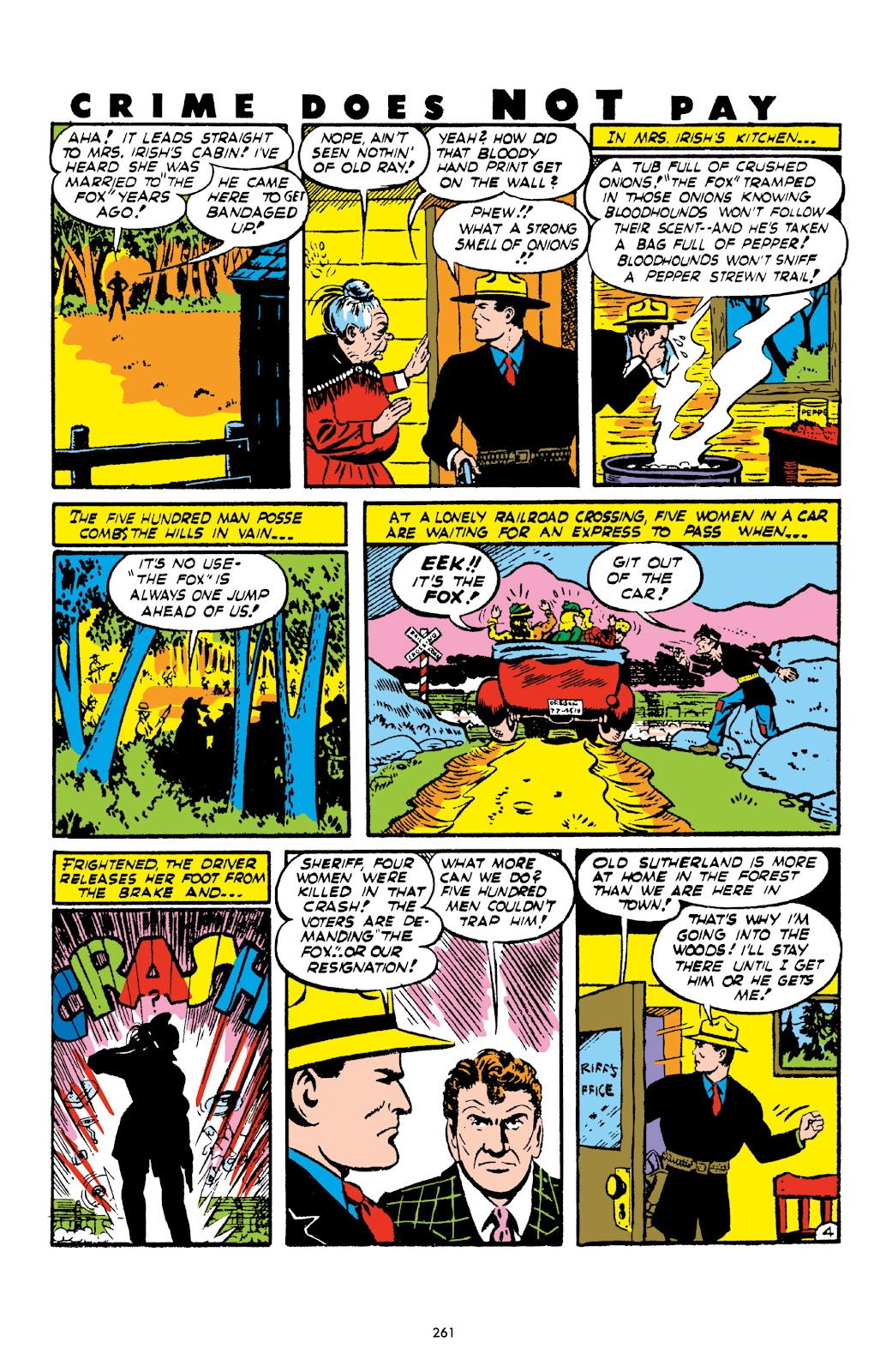 Read online Crime Does Not Pay Archives comic -  Issue # TPB 1 (Part 3) - 64