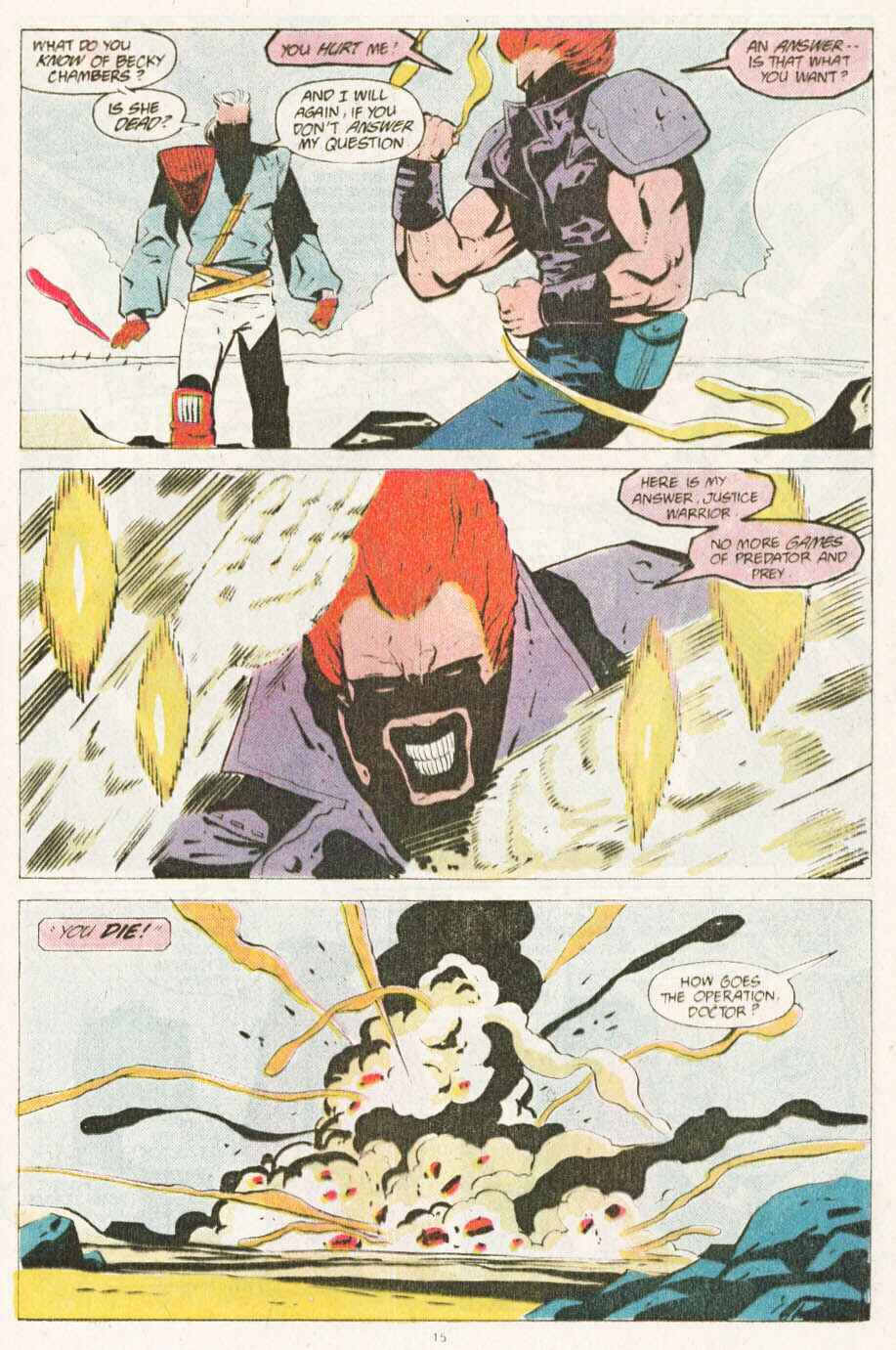 Read online Justice (1986) comic -  Issue #10 - 16