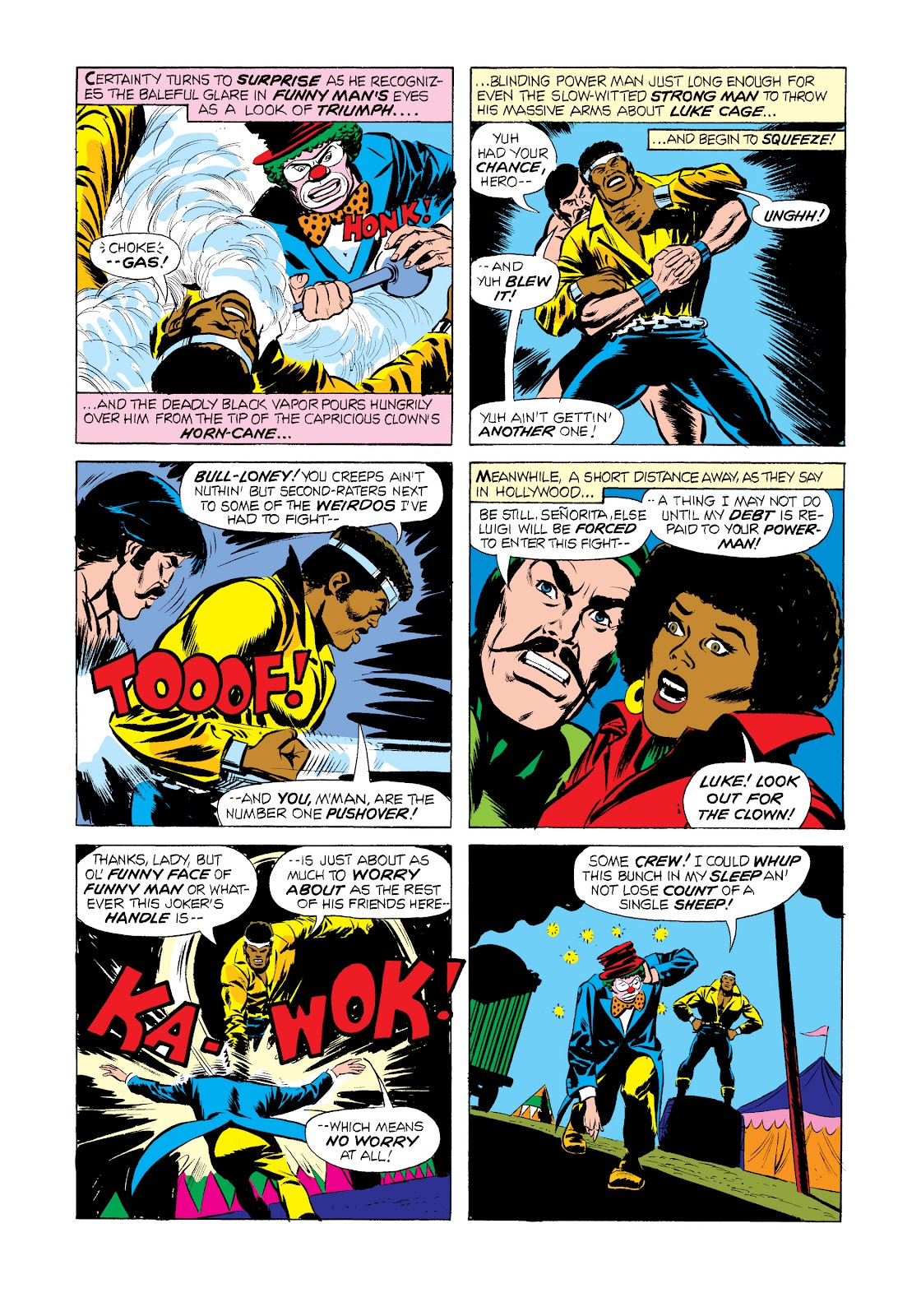 Read online Marvel Masterworks: Luke Cage, Power Man comic -  Issue # TPB 2 (Part 2) - 72