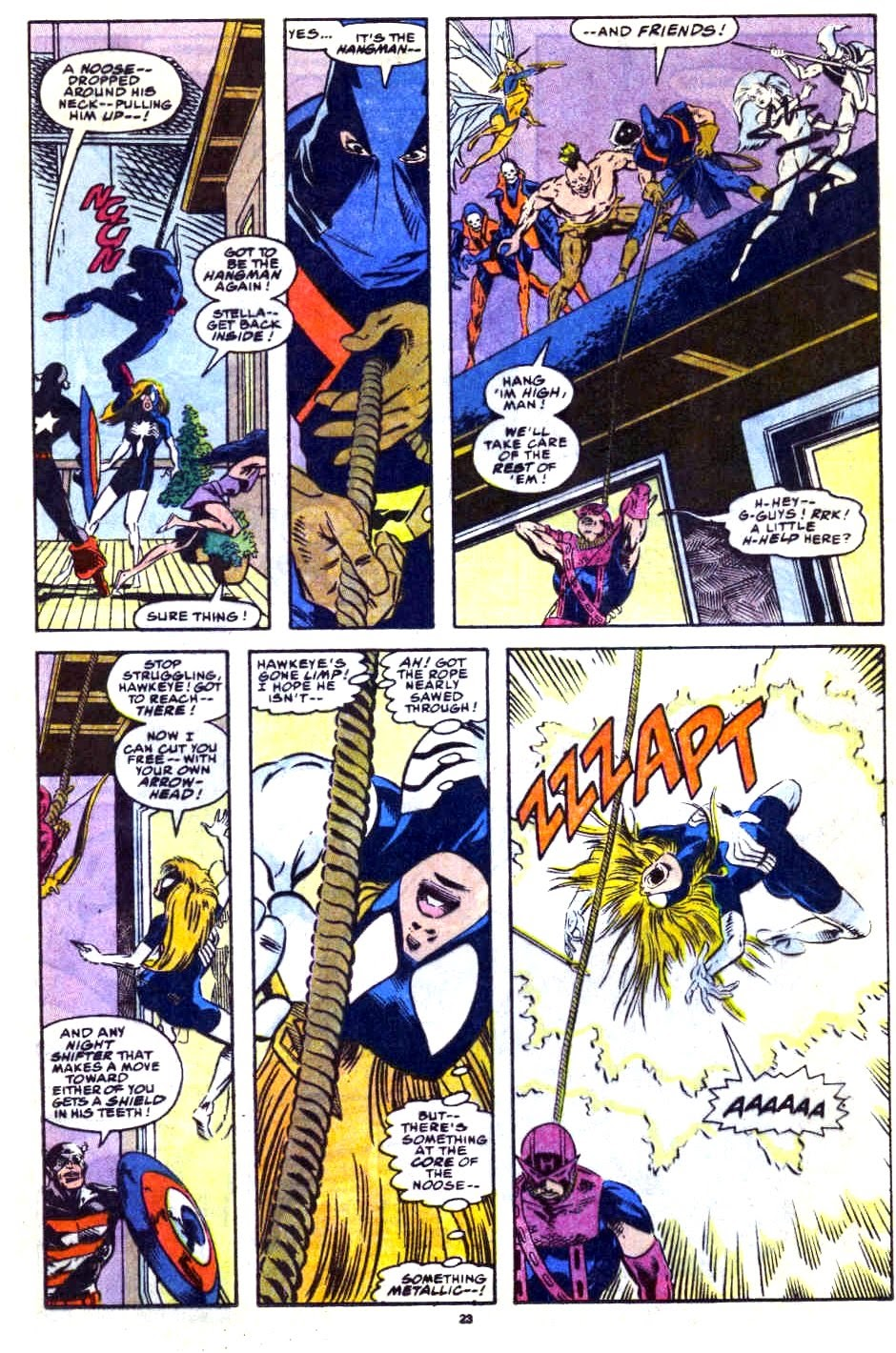 Avengers West Coast (1989) issue 76 - Page 18