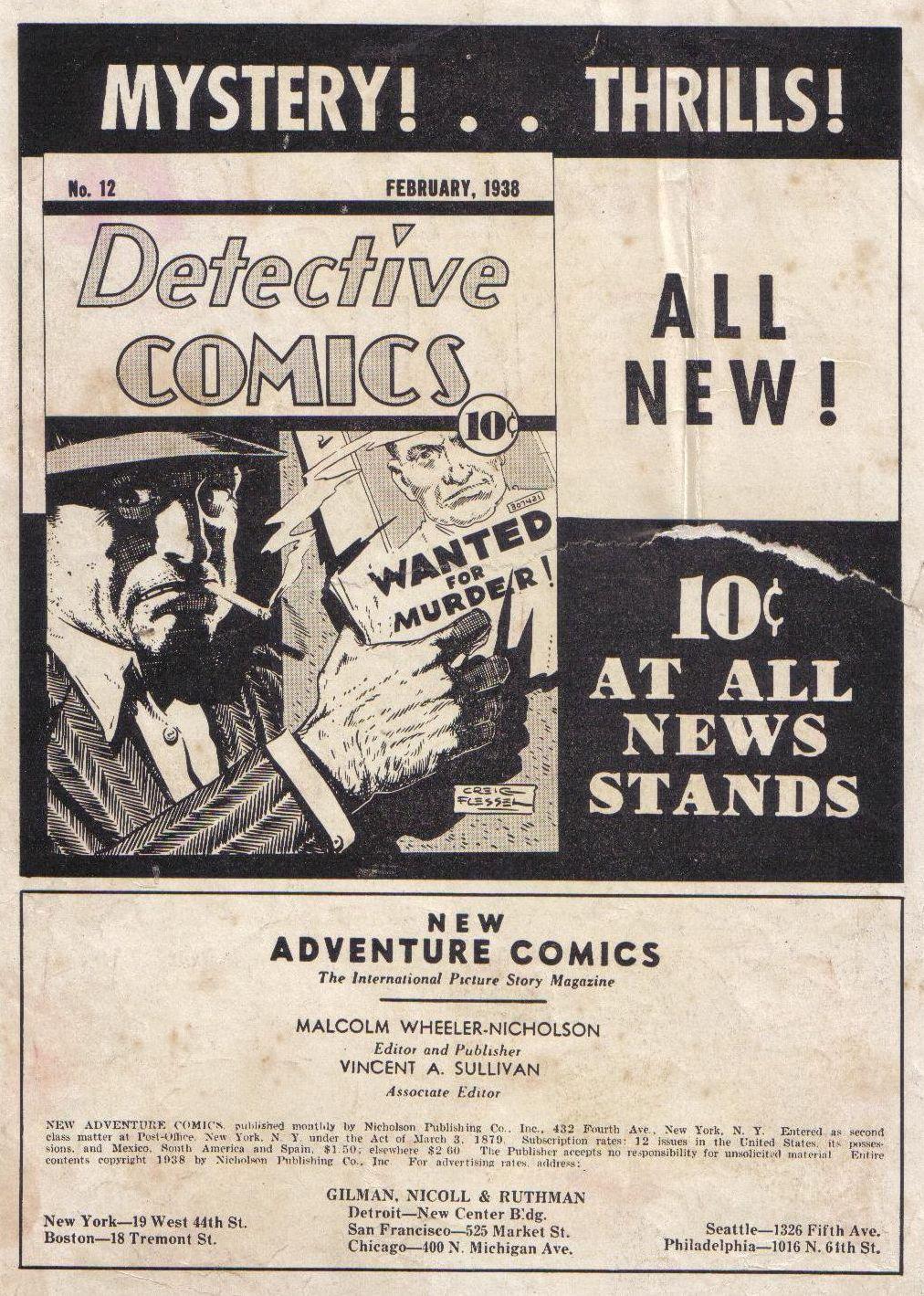Read online Adventure Comics (1938) comic -  Issue #24 - 2