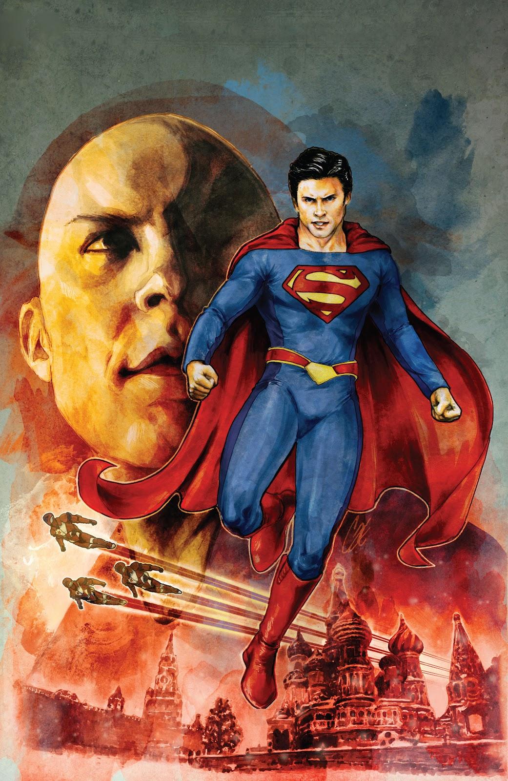 Read online Smallville Season 11 [II] comic -  Issue # TPB 6 - 47