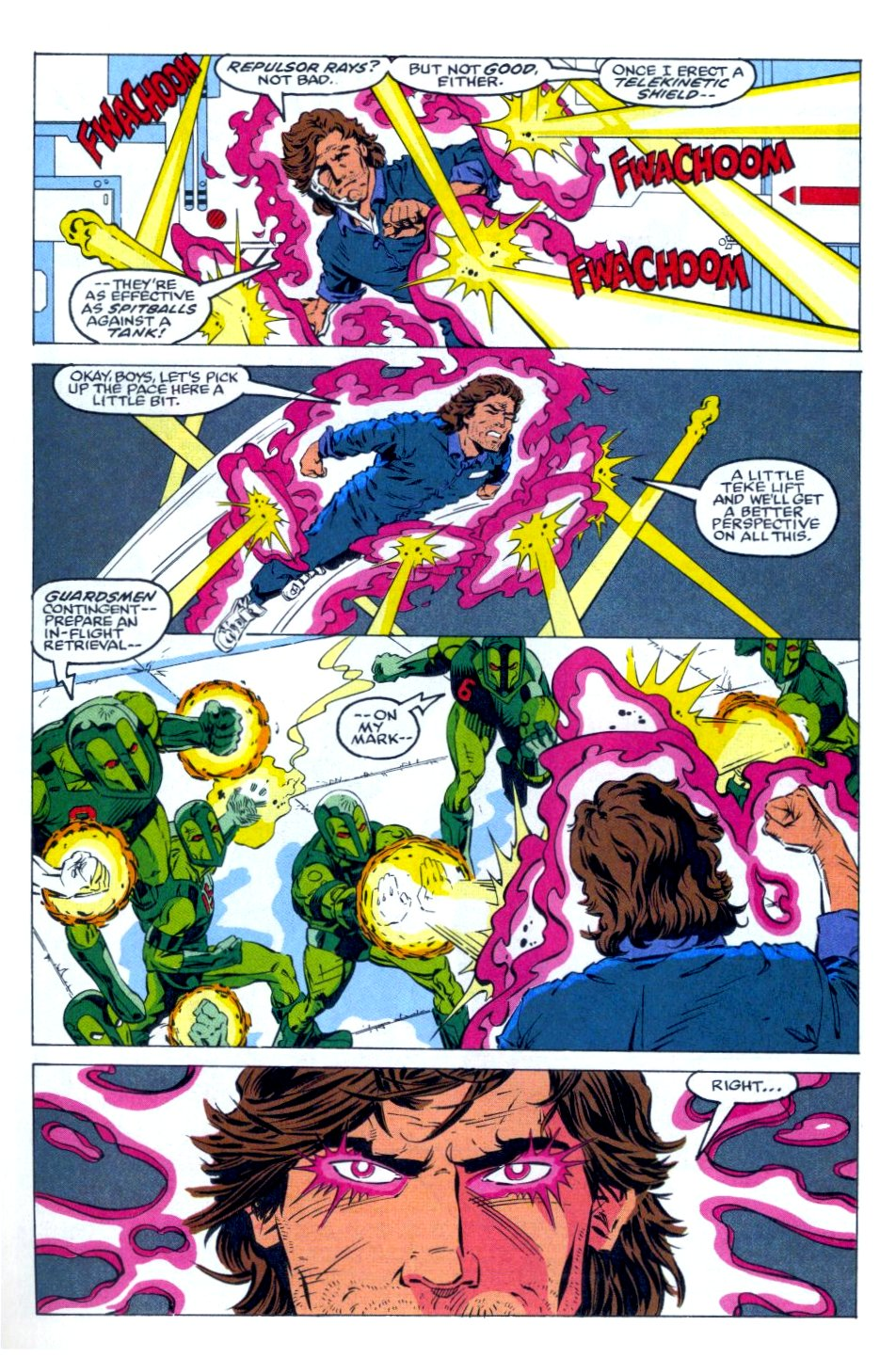 The New Warriors Issue #36 #40 - English 3