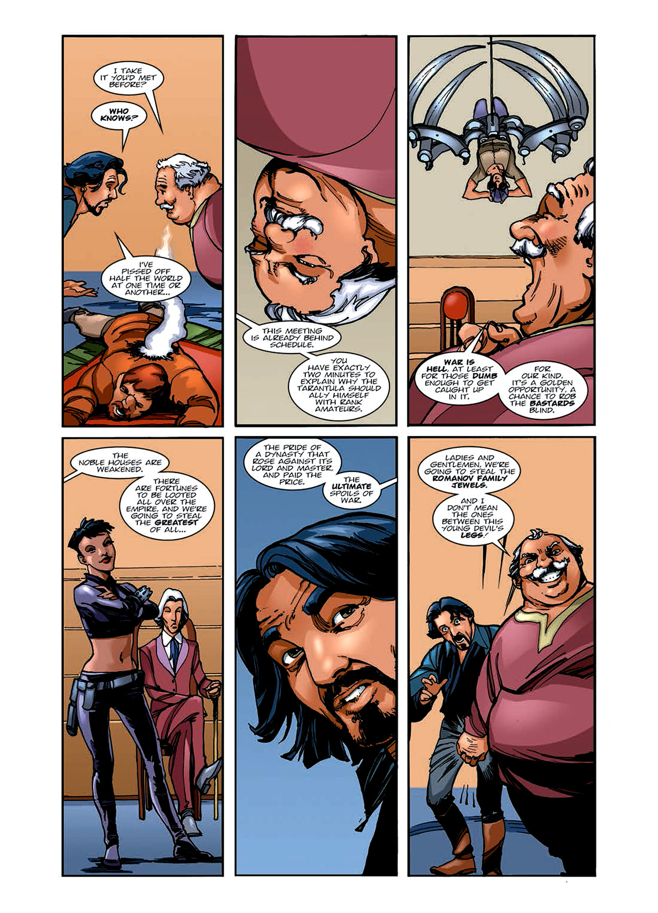 Read online Nikolai Dante comic -  Issue # TPB 6 - 48
