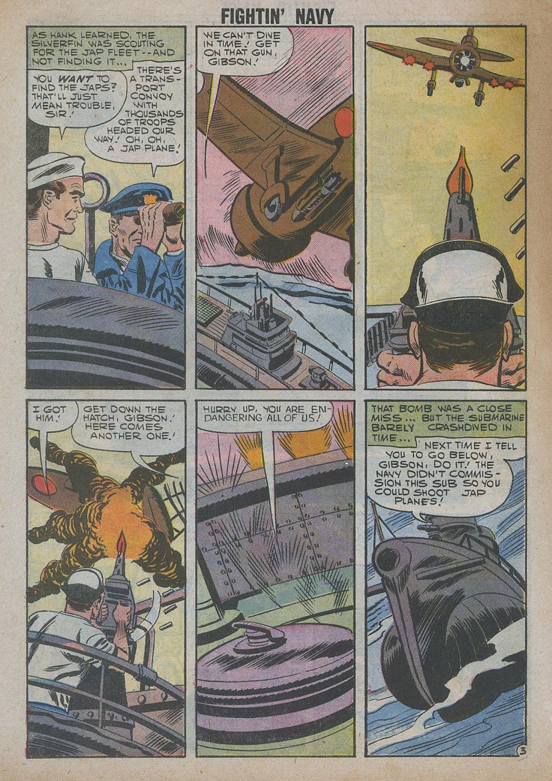 Read online Fightin' Navy comic -  Issue #82 - 56