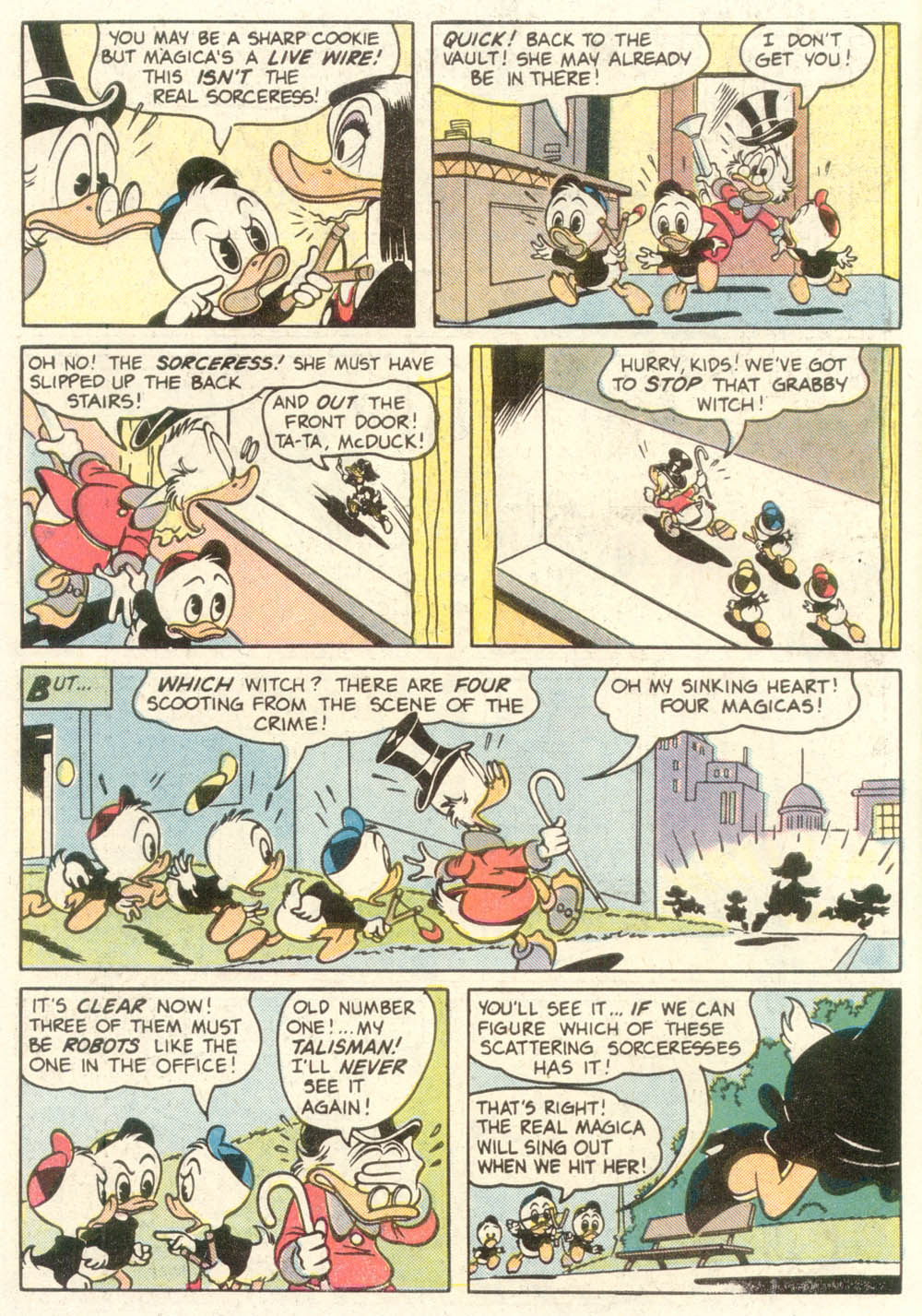 Read online Uncle Scrooge (1953) comic -  Issue #210 - 6