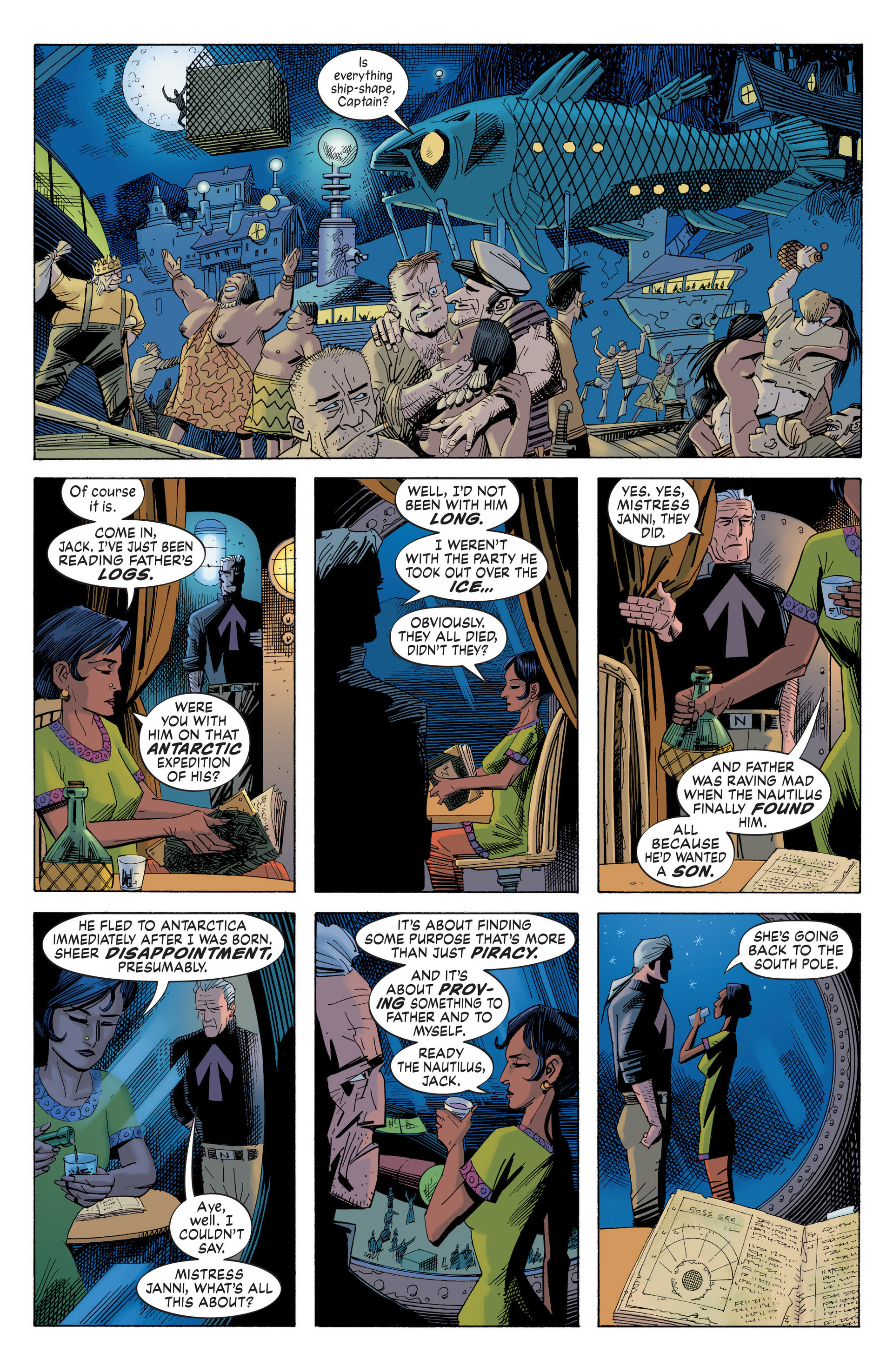 Read online Nemo: Heart of Ice comic -  Issue # Full - 14