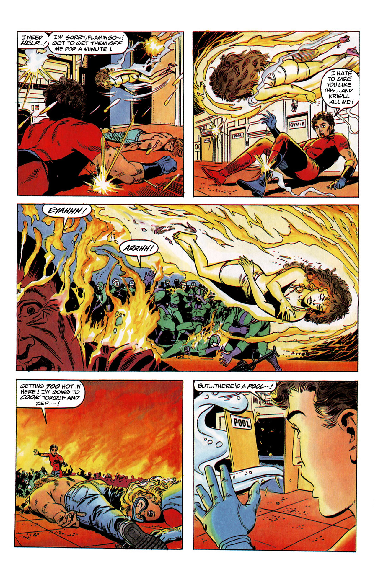 Read online Harbinger (1992) comic -  Issue #2 - 21
