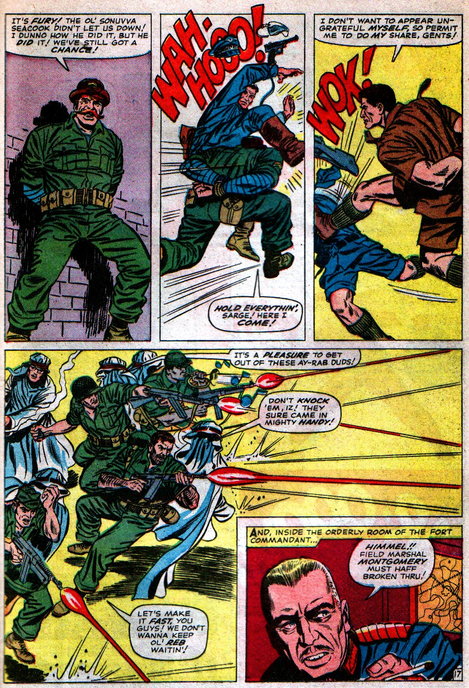 Read online Sgt. Fury comic -  Issue #16 - 25