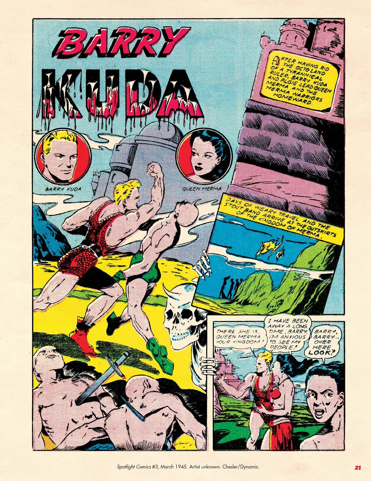 Read online Super Weird Heroes comic -  Issue # TPB 2 (Part 1) - 21