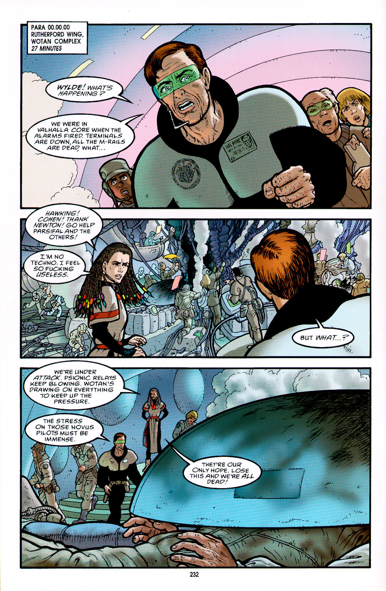 Read online Heart of Empire comic -  Issue #8 - 8