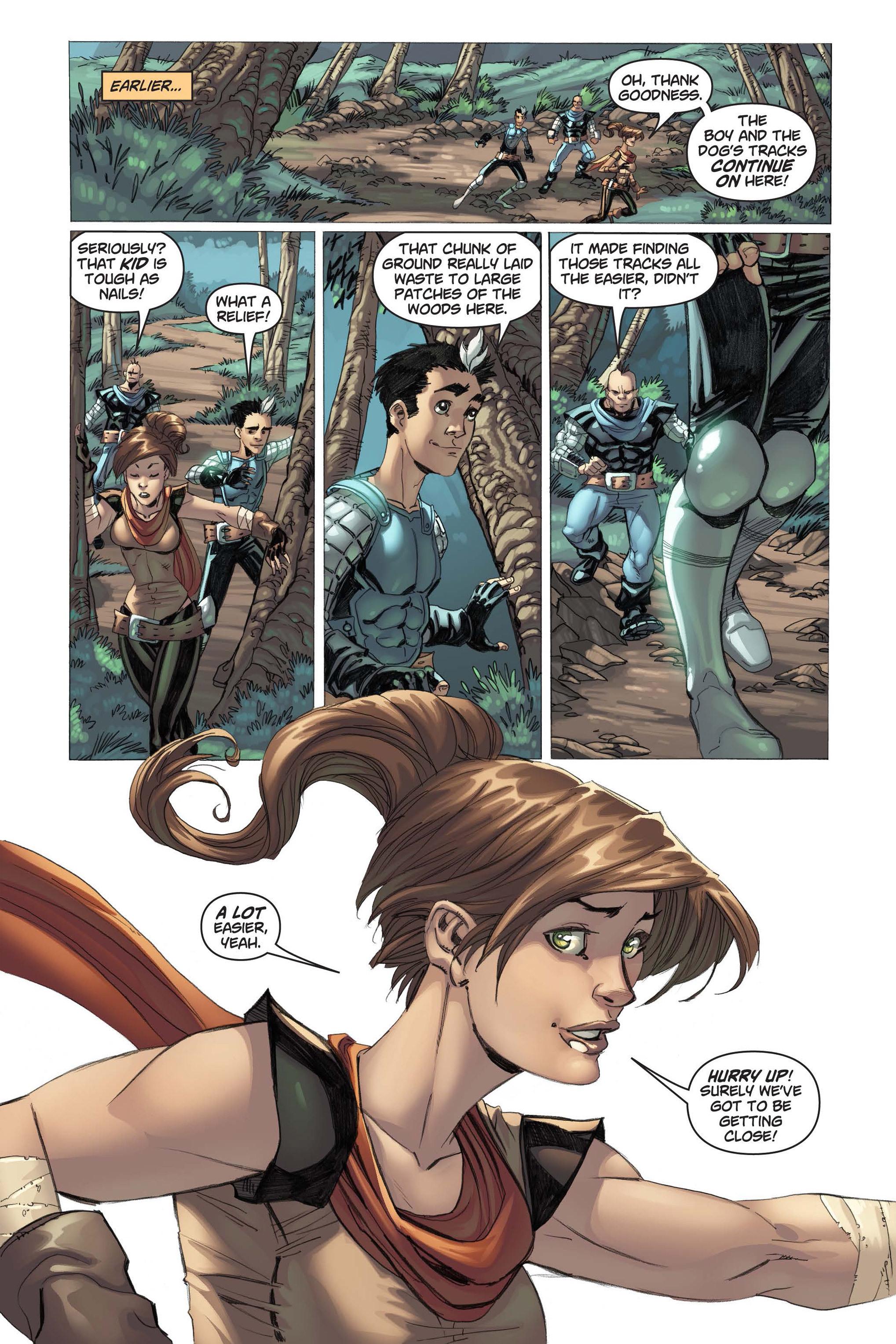 Read online Skyward comic -  Issue #3 - 12