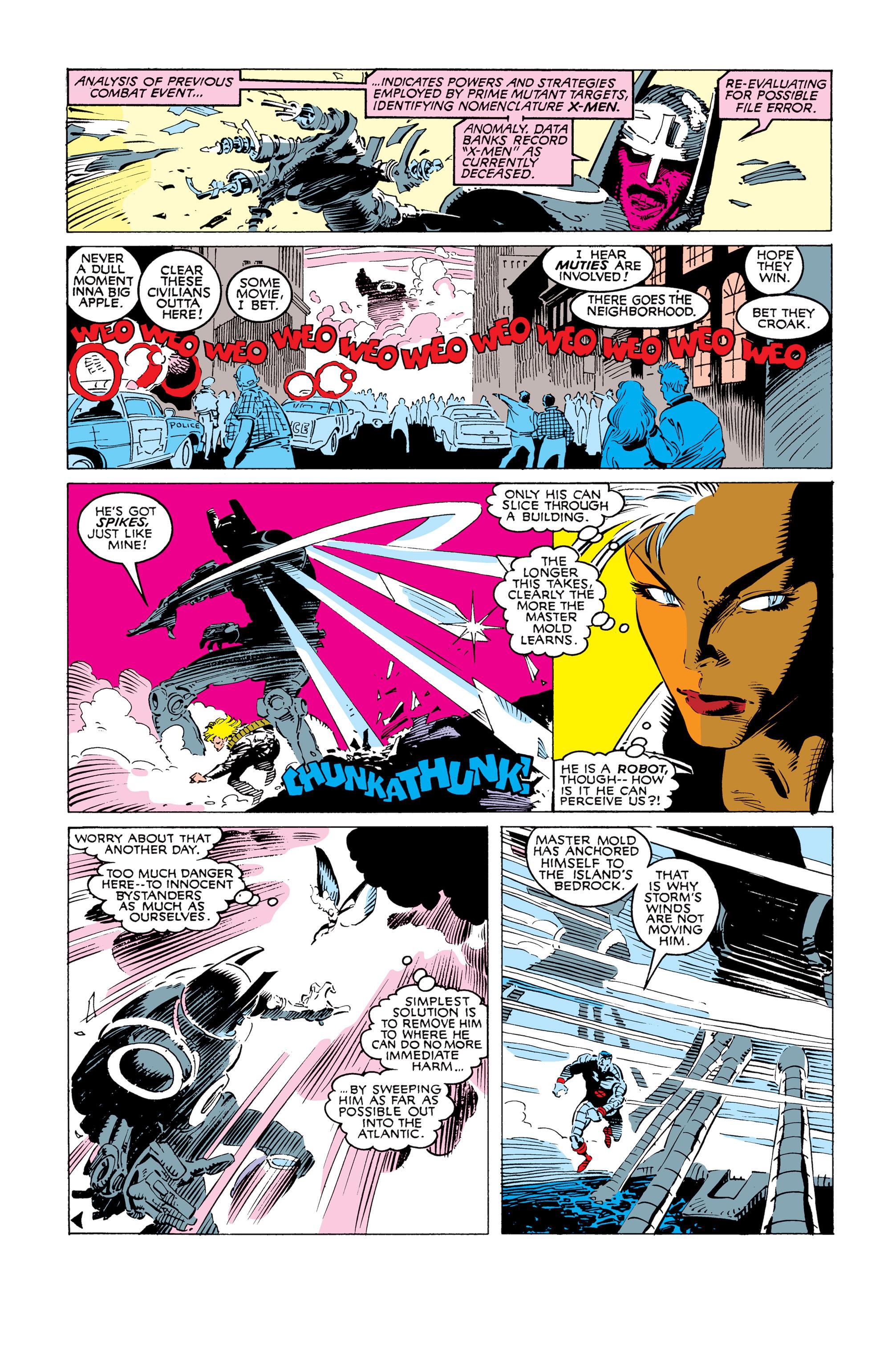 Read online Uncanny X-Men (1963) comic -  Issue #247 - 14