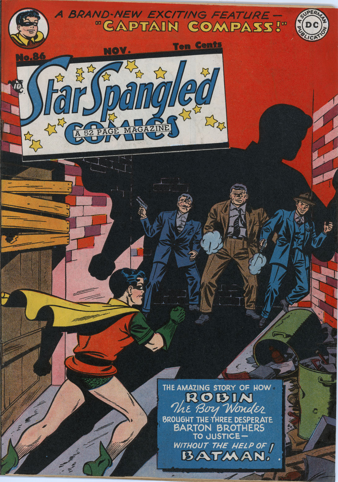 Star Spangled Comics (1941) 86 Page 1