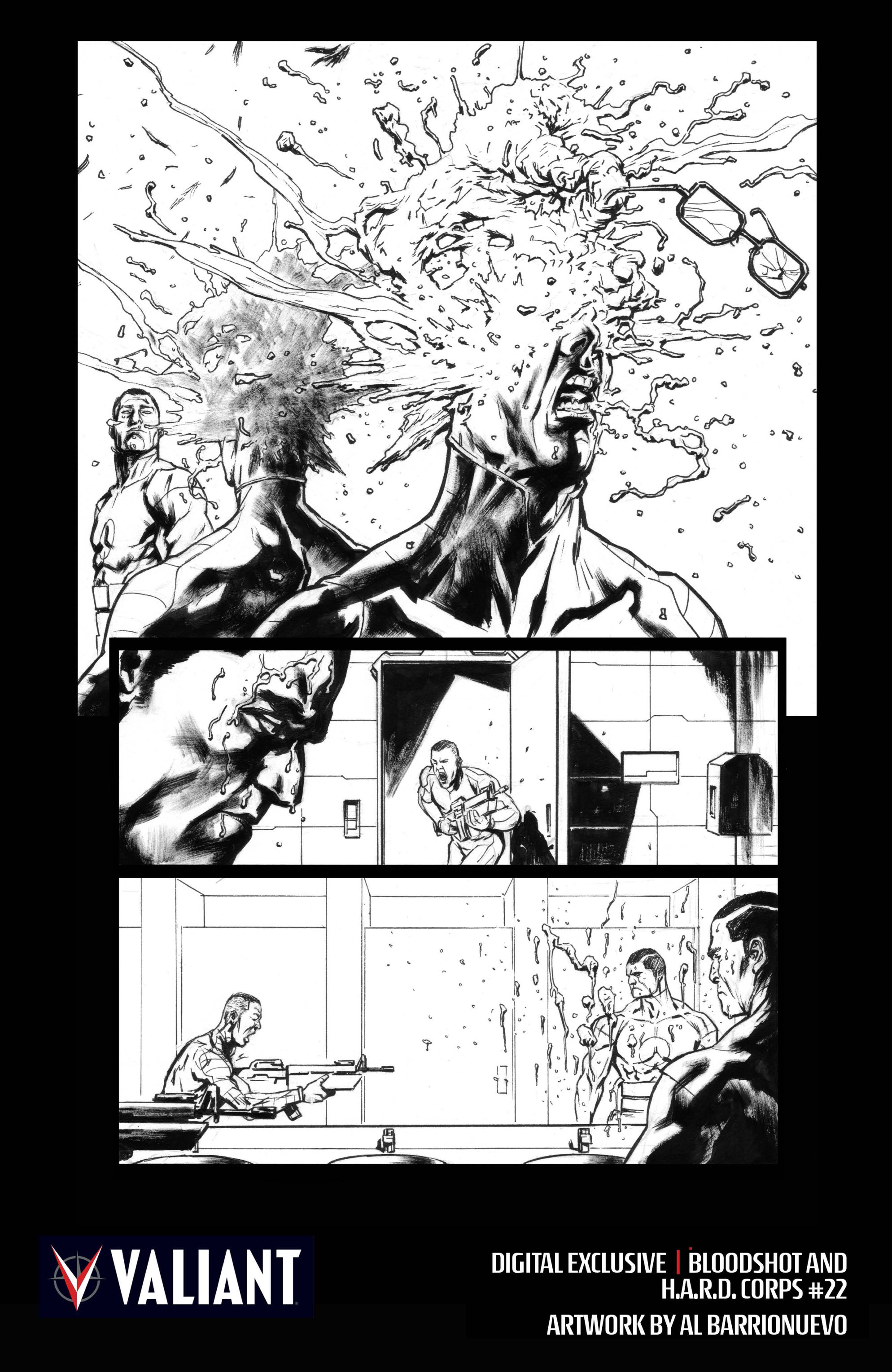 Read online Bloodshot and H.A.R.D.Corps comic -  Issue #22 - 27