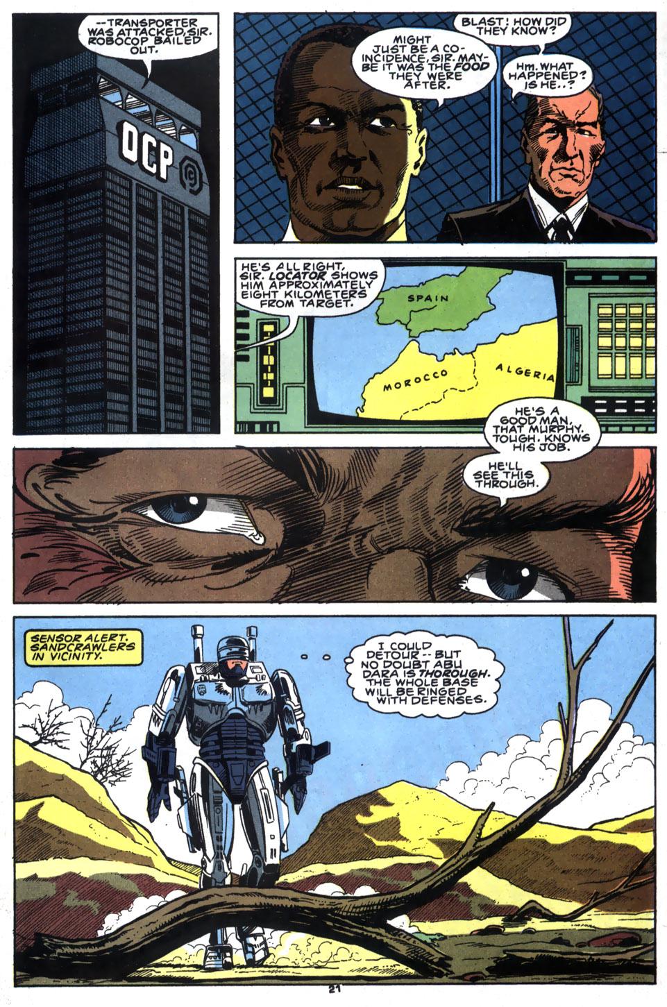Read online Robocop (1990) comic -  Issue #5 - 17