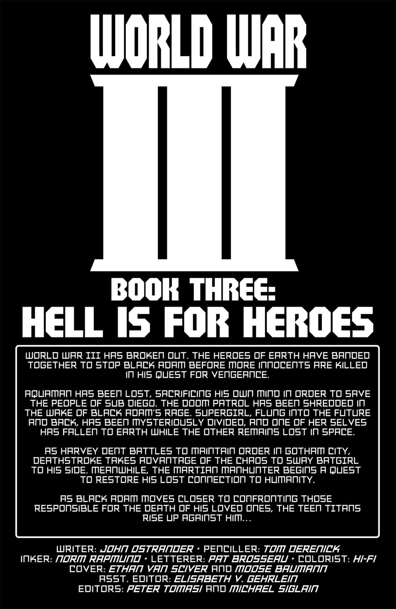 Read online World War III comic -  Issue #3 - 3