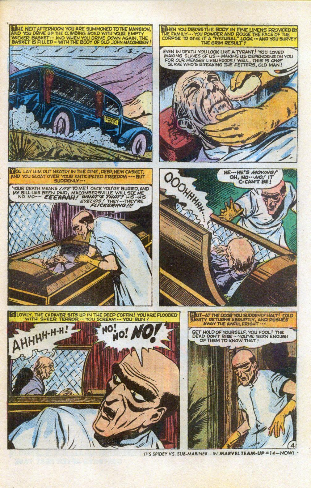 Read online Adventures into Weird Worlds comic -  Issue #5 - 5