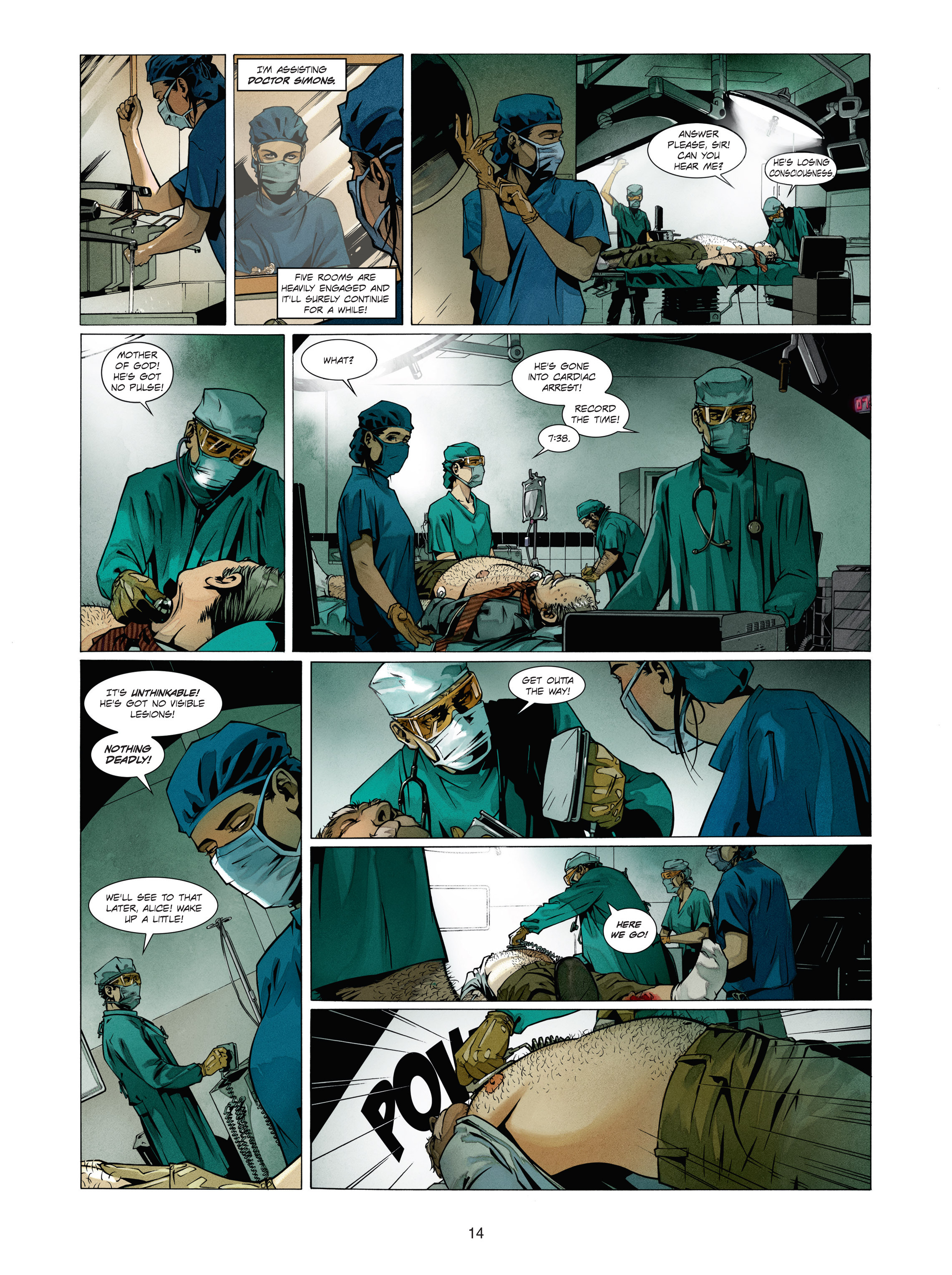 Read online Alice Matheson comic -  Issue #1 - 13