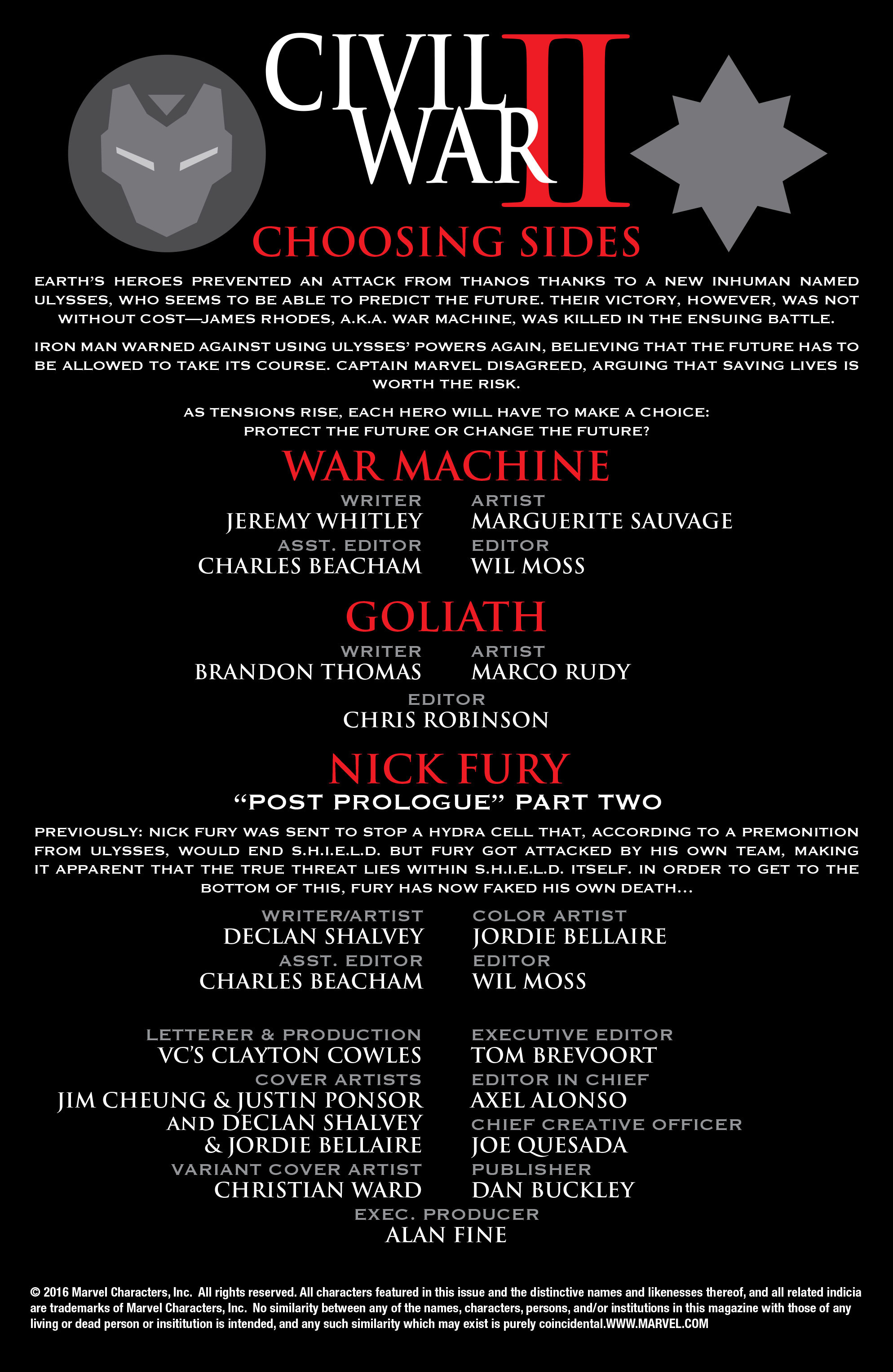 Read online Civil War II: Choosing Sides comic -  Issue #2 - 4